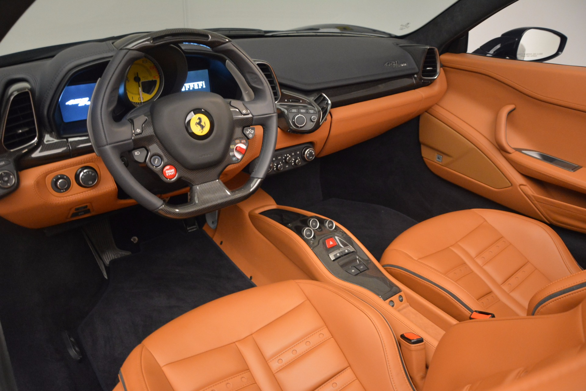 Used 2015 Ferrari 458 Spider  For Sale In Westport, CT 1477_p21