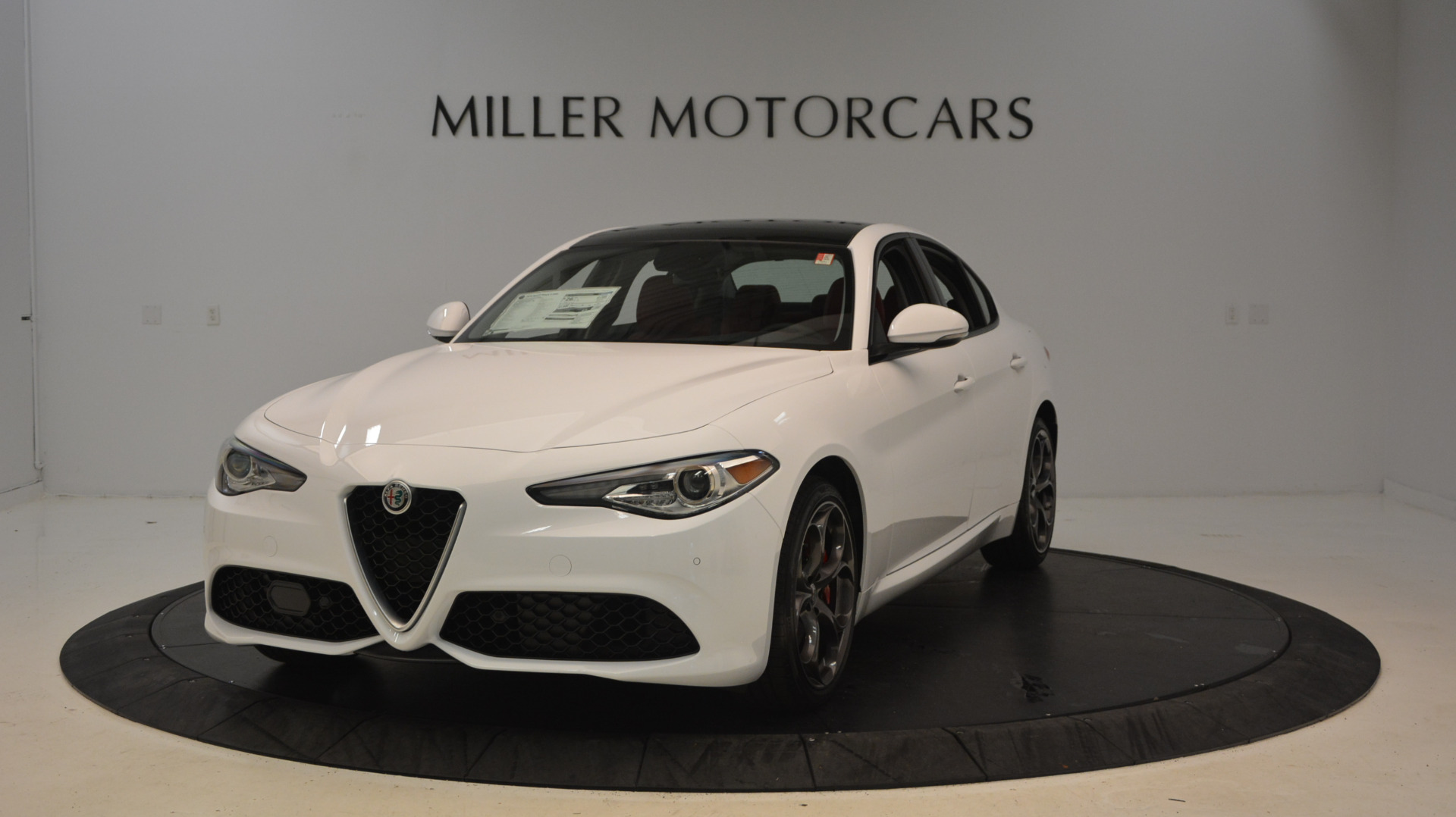 New 2017 Alfa Romeo Giulia Ti Sport Q4 For Sale In Westport, CT 1487_main