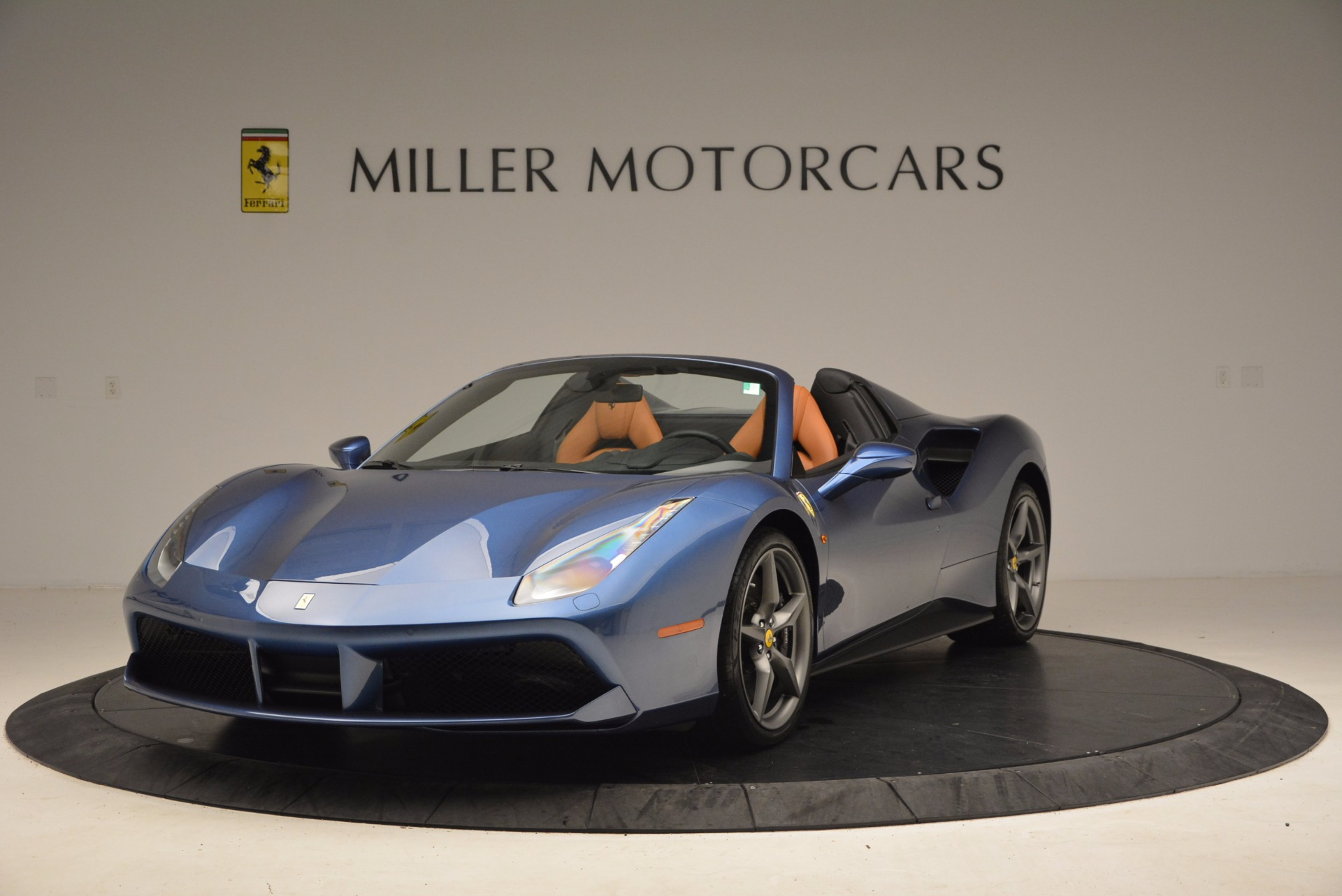 Used 2017 Ferrari 488 Spider  For Sale In Westport, CT 1489_main