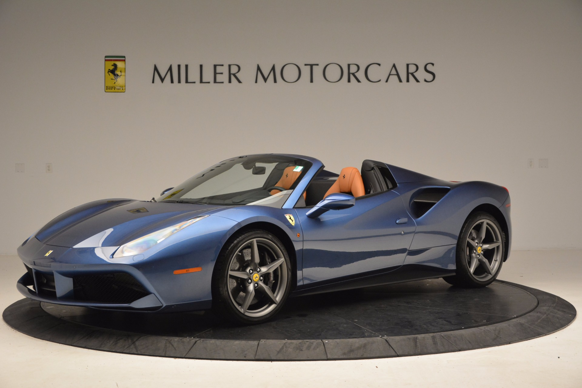 Used 2017 Ferrari 488 Spider  For Sale In Westport, CT 1489_p2