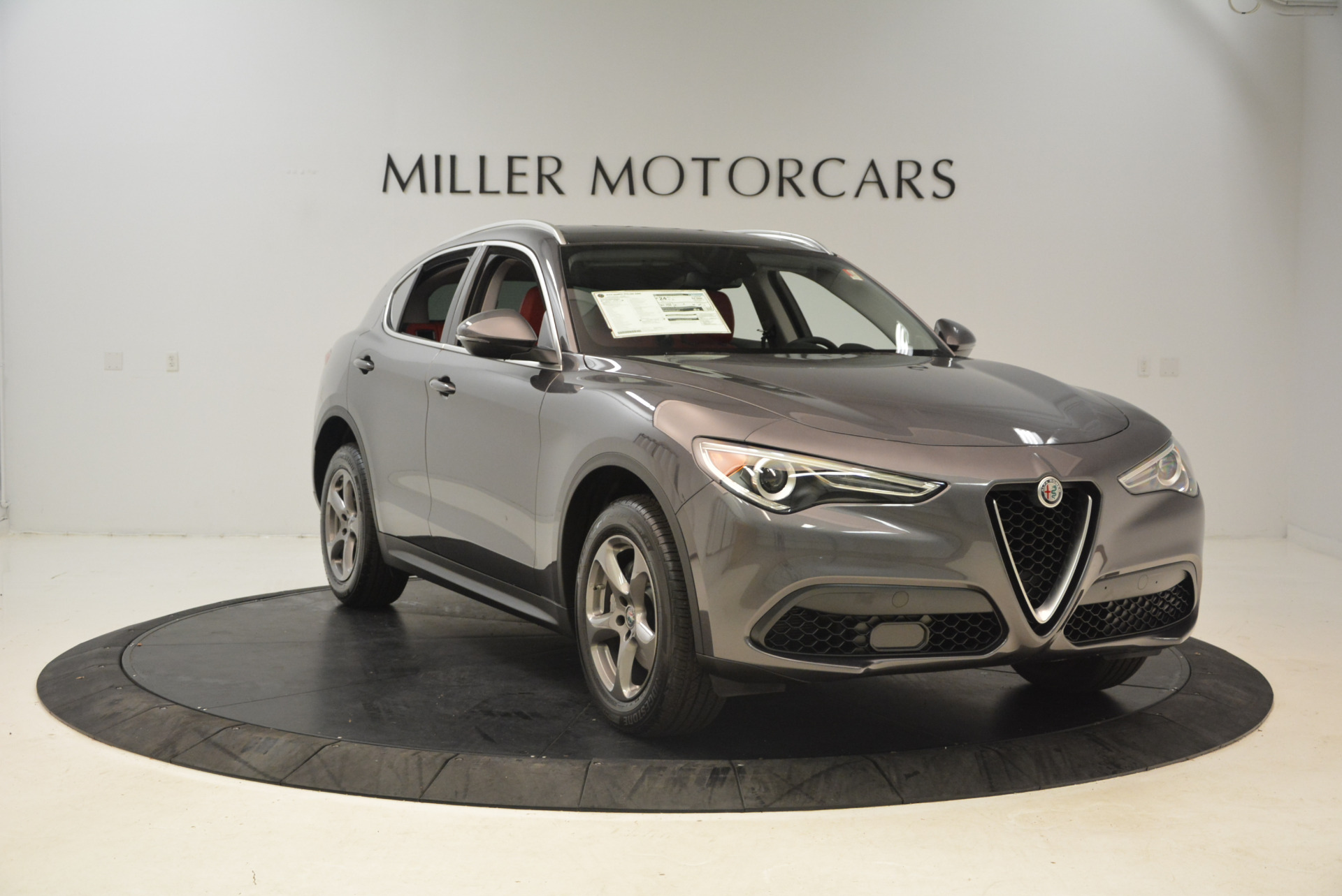 New 2018 Alfa Romeo Stelvio Q4 For Sale In Westport, CT 1490_p11