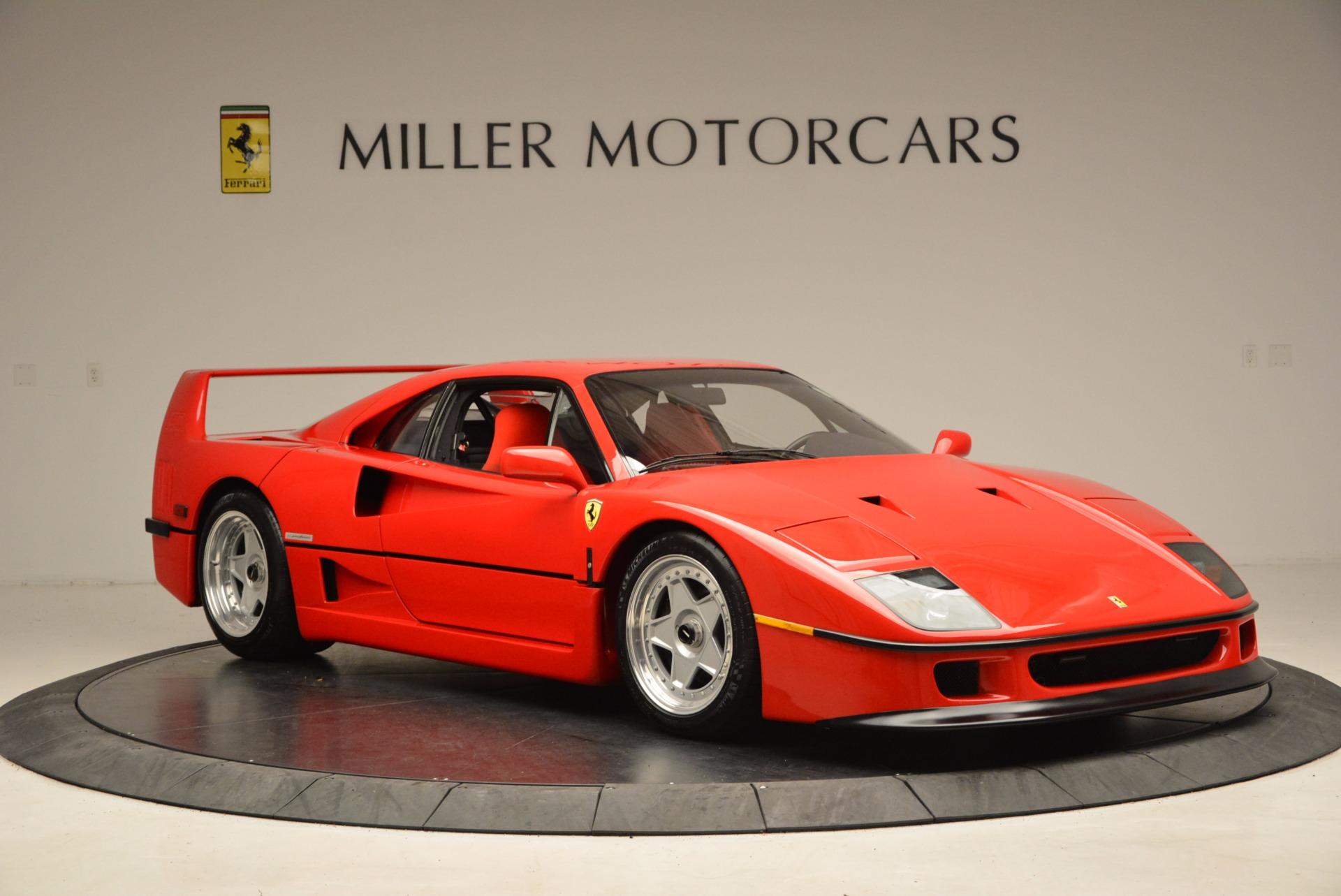 Used 1992 Ferrari F40  For Sale In Westport, CT 1500_p12