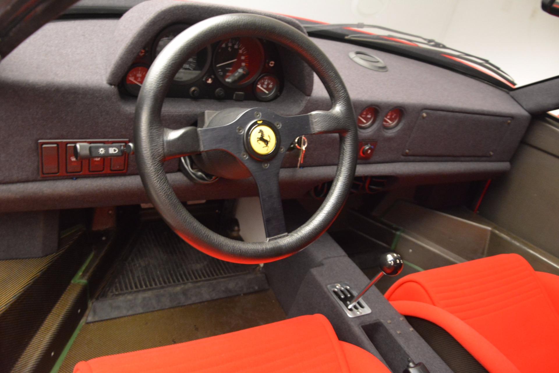 Used 1992 Ferrari F40  For Sale In Westport, CT 1500_p16