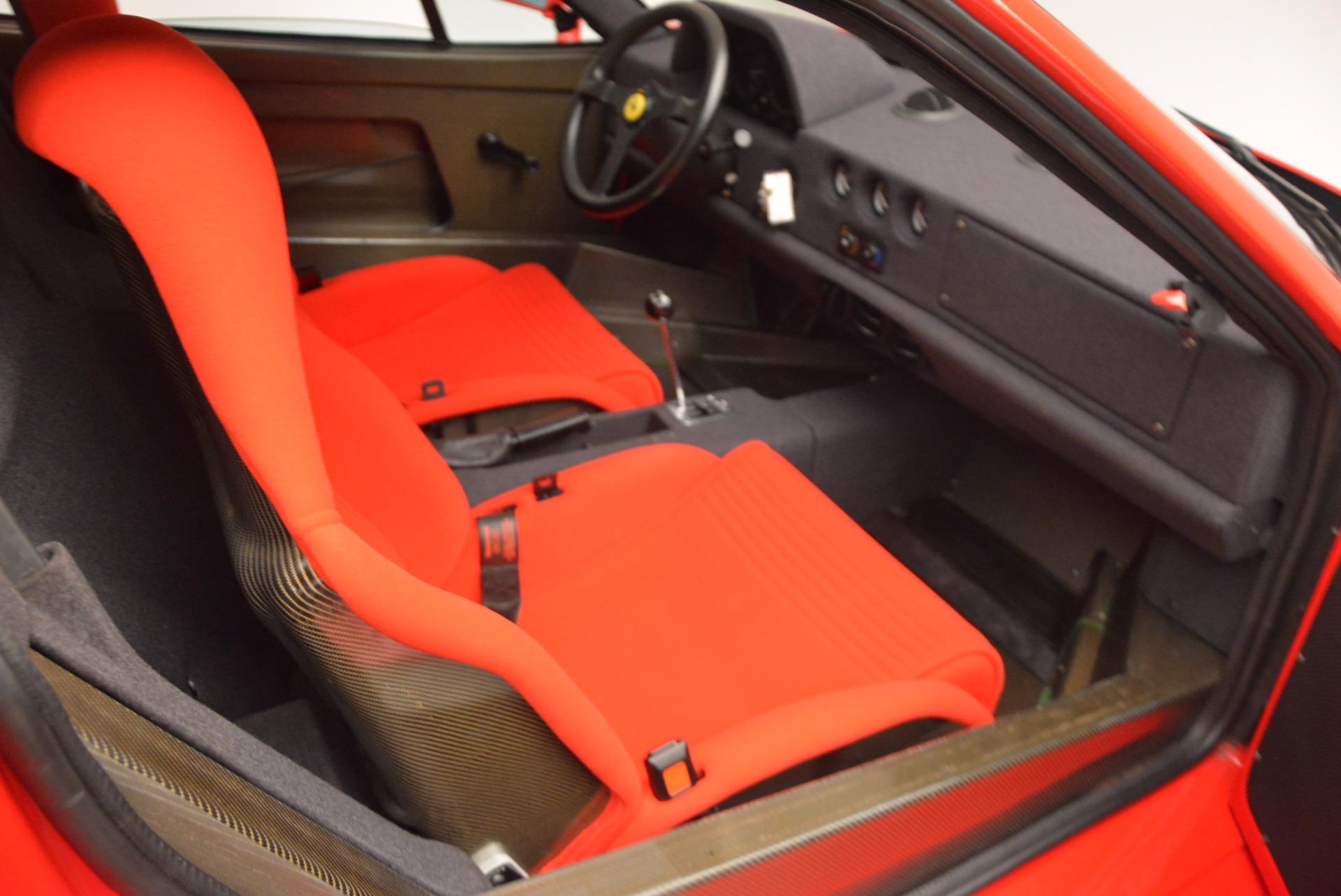 Used 1992 Ferrari F40  For Sale In Westport, CT 1500_p17