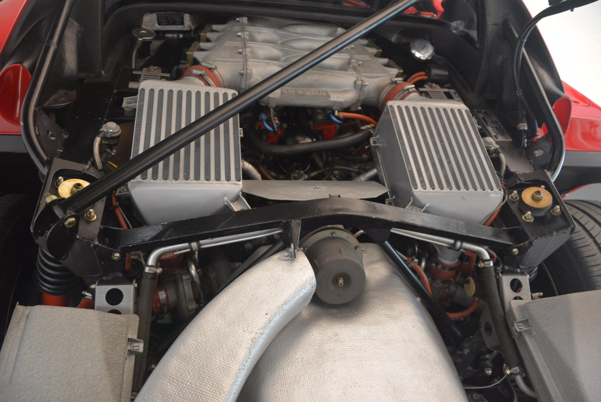 Used 1992 Ferrari F40  For Sale In Westport, CT 1500_p24