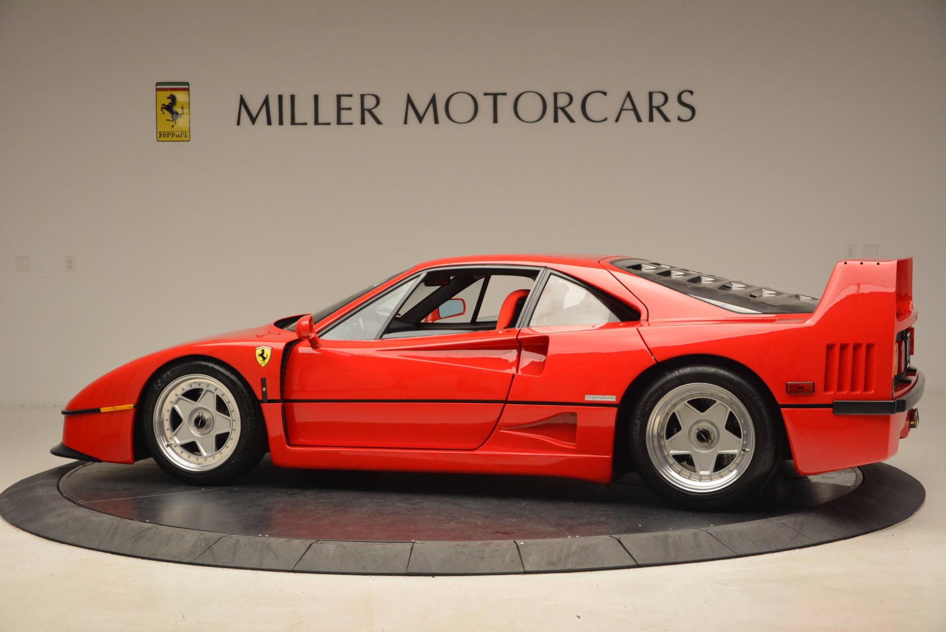 Used 1992 Ferrari F40  For Sale In Westport, CT 1500_p4