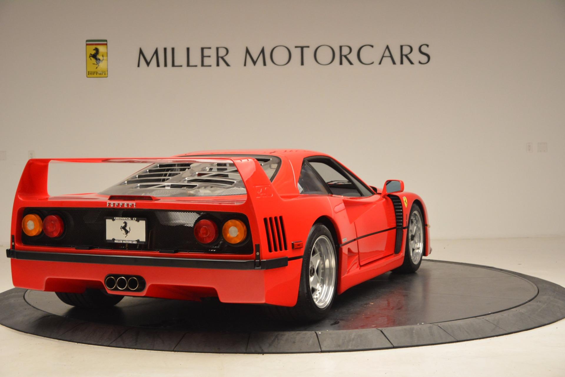 Used 1992 Ferrari F40  For Sale In Westport, CT 1500_p8