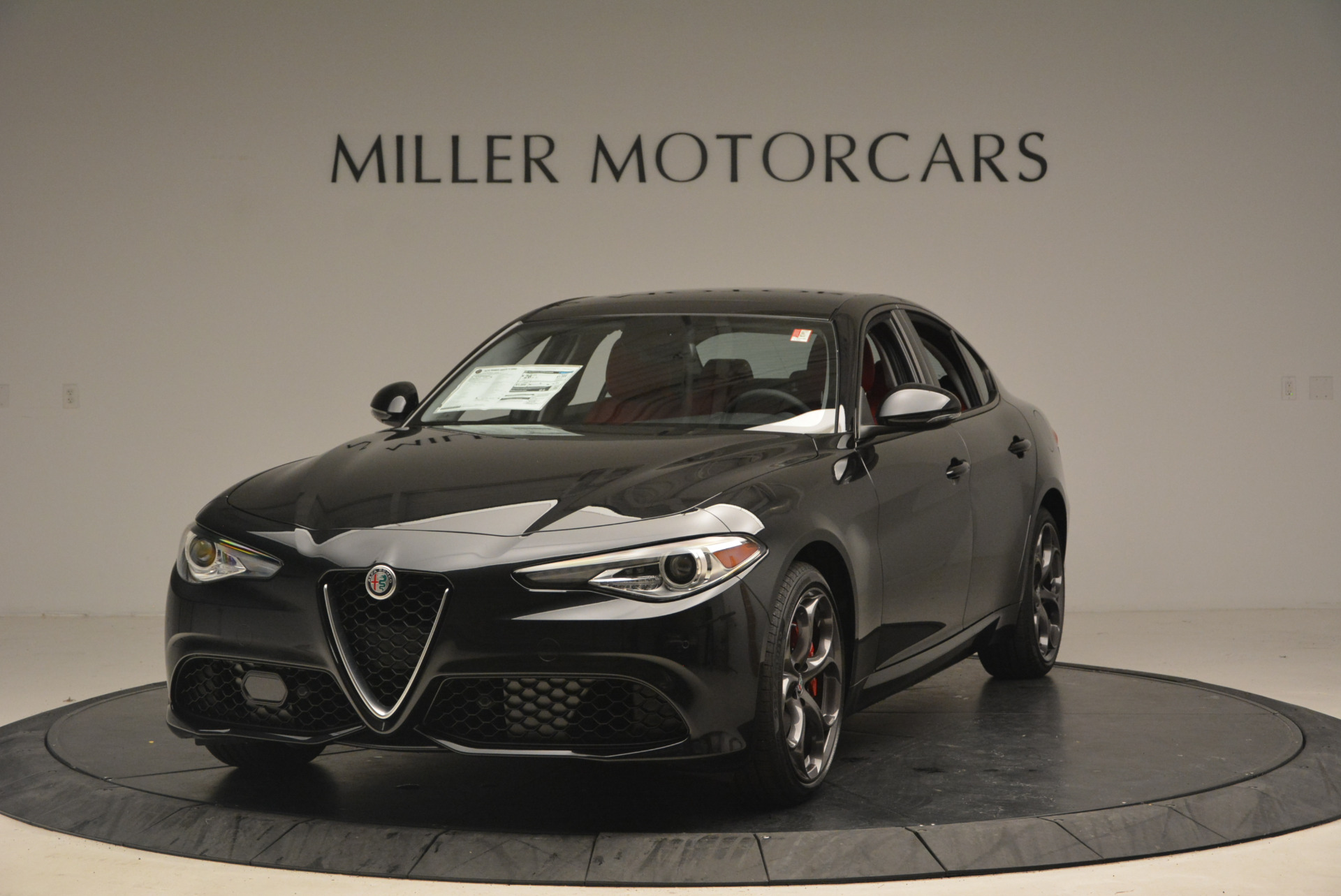 New 2017 Alfa Romeo Giulia Ti Sport Q4 For Sale In Westport, CT 1505_main