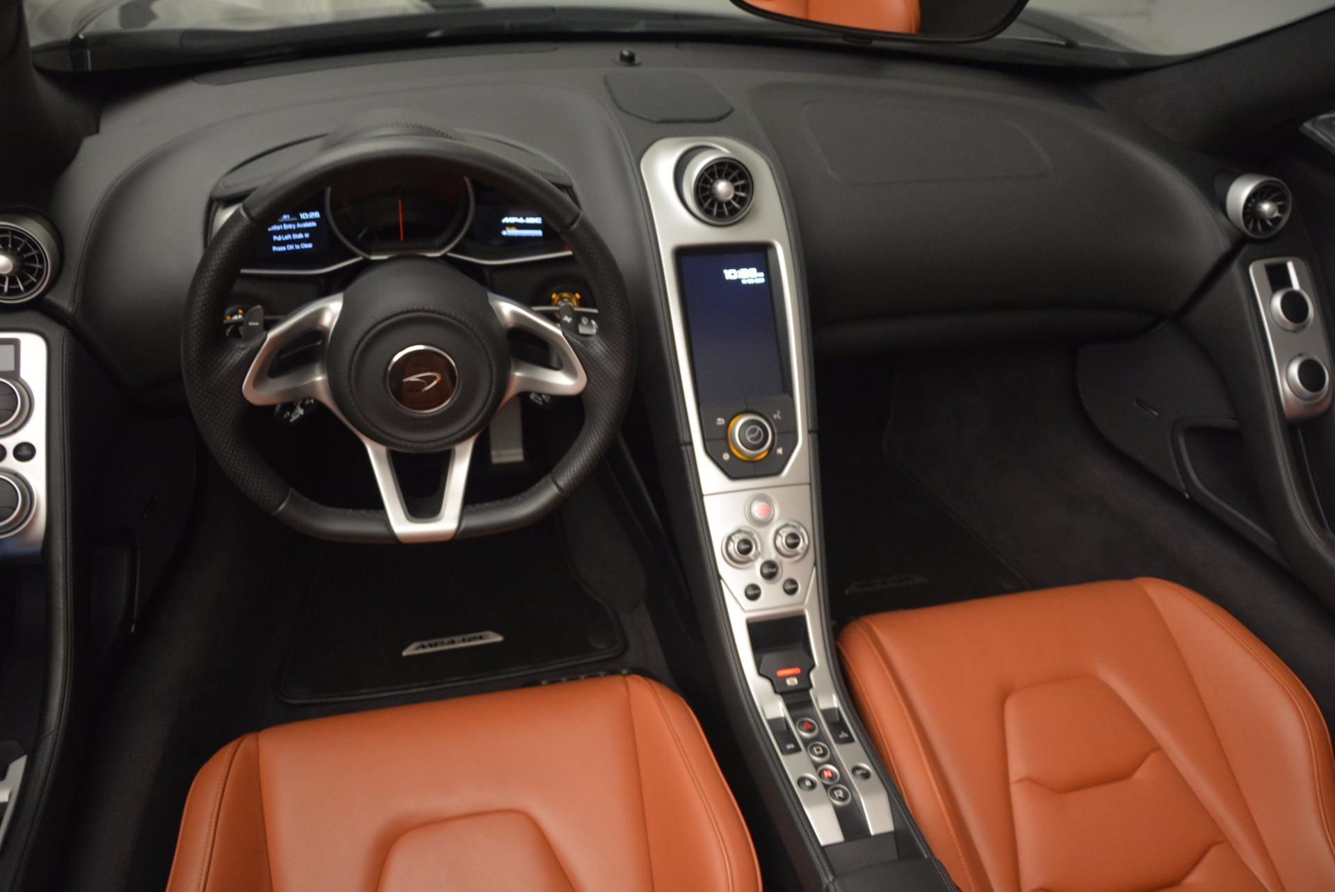 Used 2014 McLaren MP4-12C Spider  For Sale In Westport, CT 1510_p32