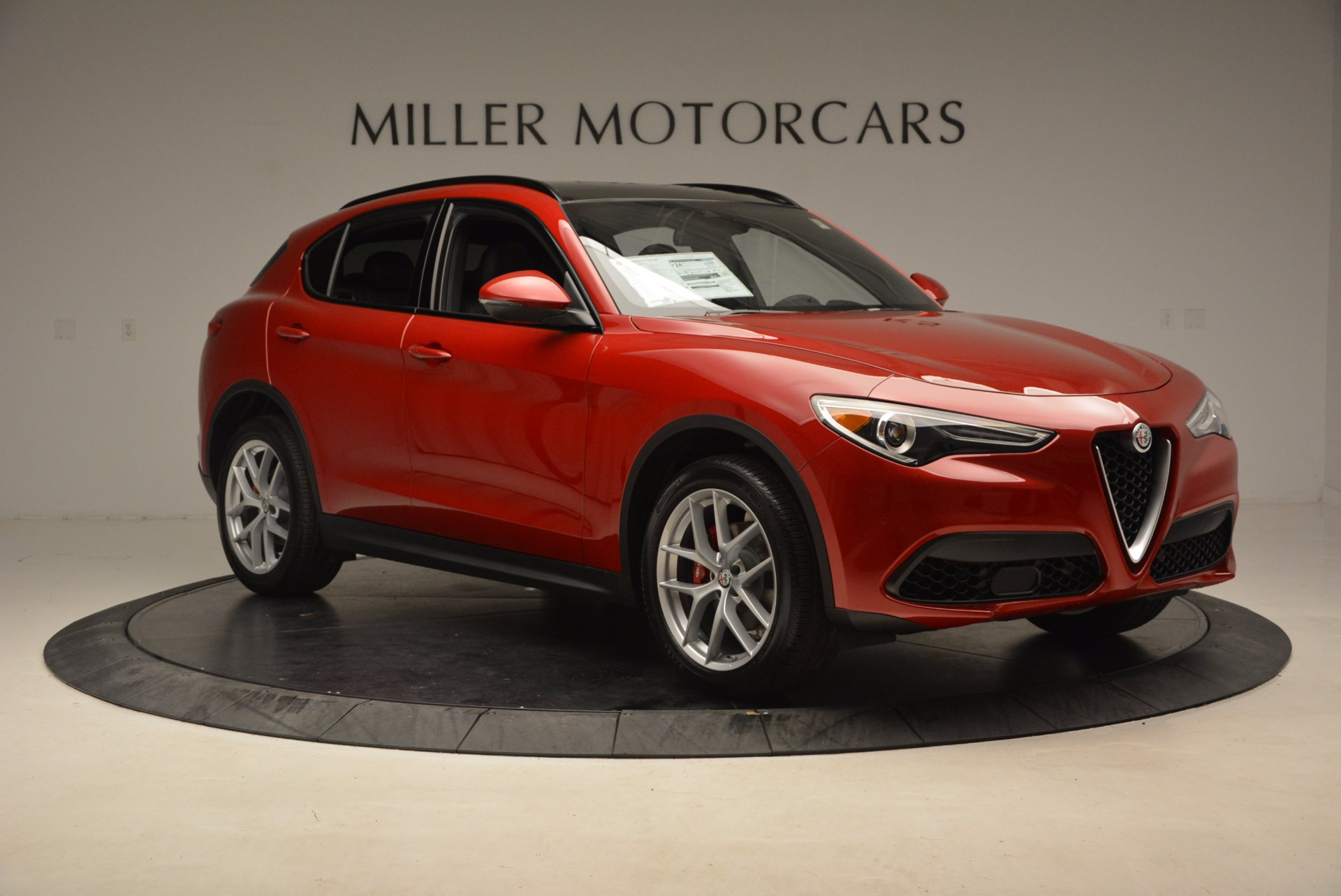 New 2018 Alfa Romeo Stelvio Ti Sport Q4 For Sale In Westport, CT 1521_p11