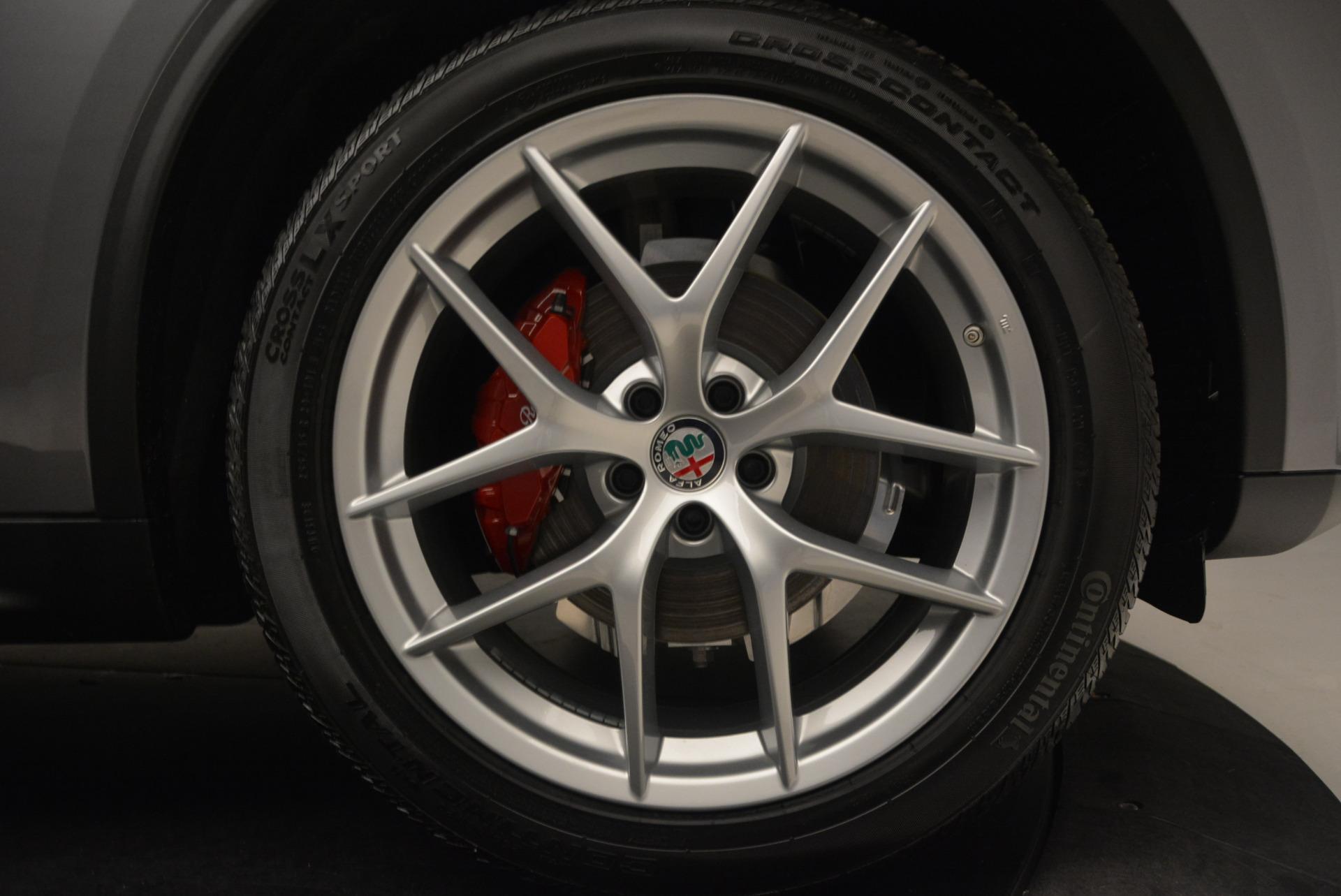 New 2018 Alfa Romeo Stelvio Q4 For Sale In Westport, CT 1523_p25