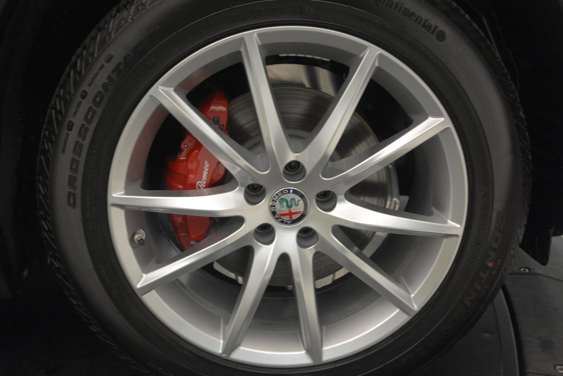 New 2018 Alfa Romeo Stelvio Ti Q4 For Sale In Westport, CT 1526_p26