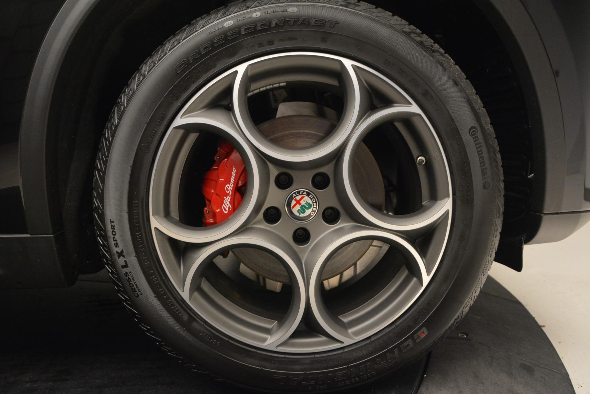 New 2018 Alfa Romeo Stelvio Sport Q4 For Sale In Westport, CT 1529_p25