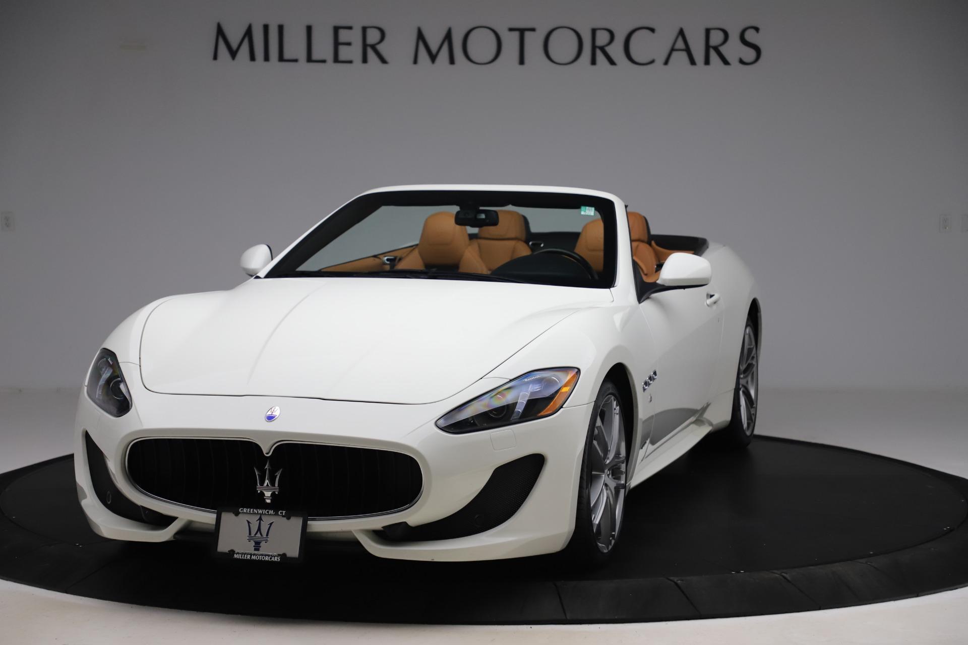 New 2017 Maserati GranTurismo Convertible Sport For Sale In Westport, CT 153_main