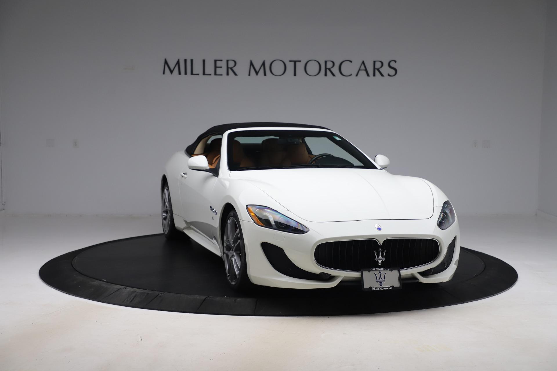 New 2017 Maserati GranTurismo Convertible Sport For Sale In Westport, CT 153_p22