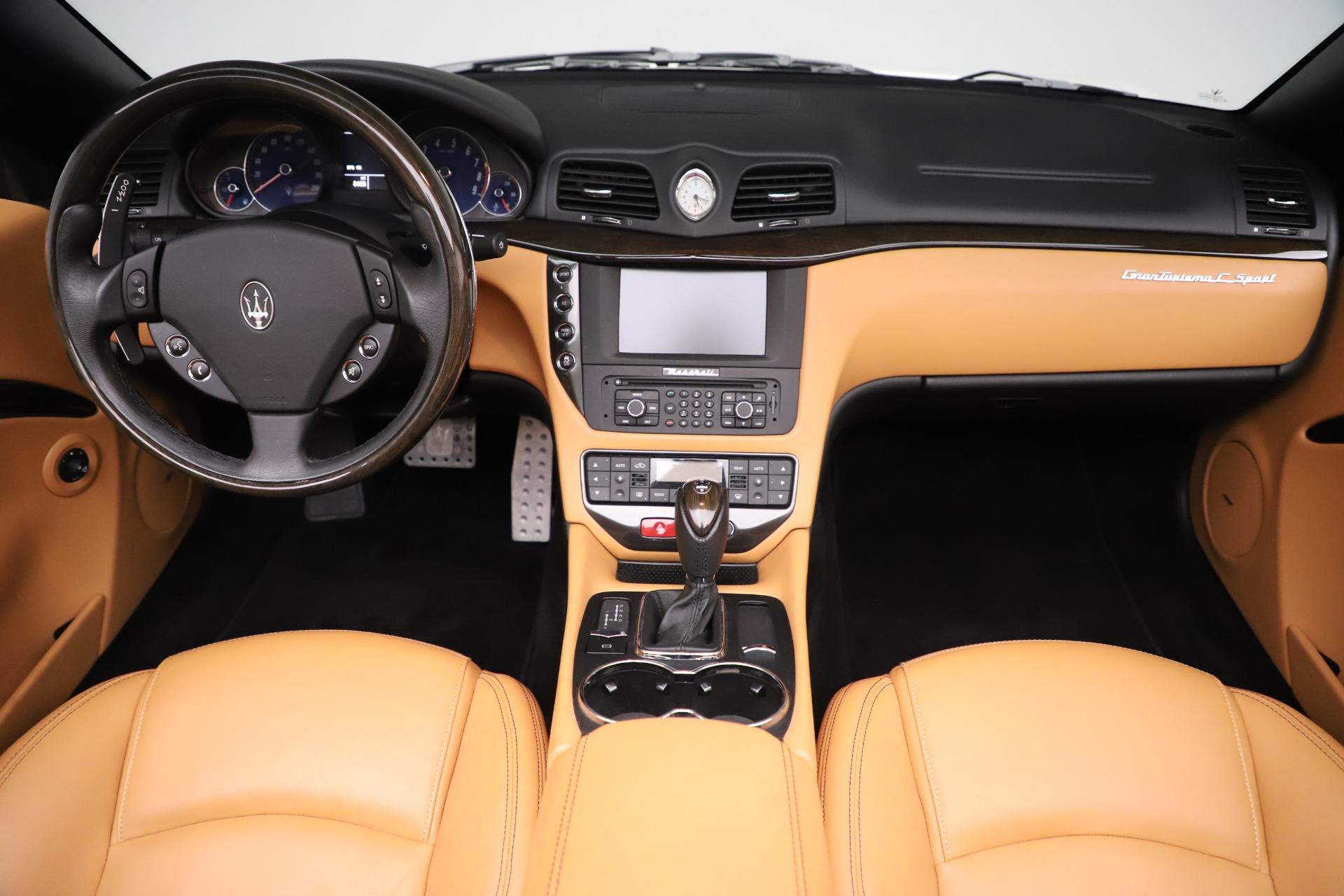 New 2017 Maserati GranTurismo Convertible Sport For Sale In Westport, CT 153_p26