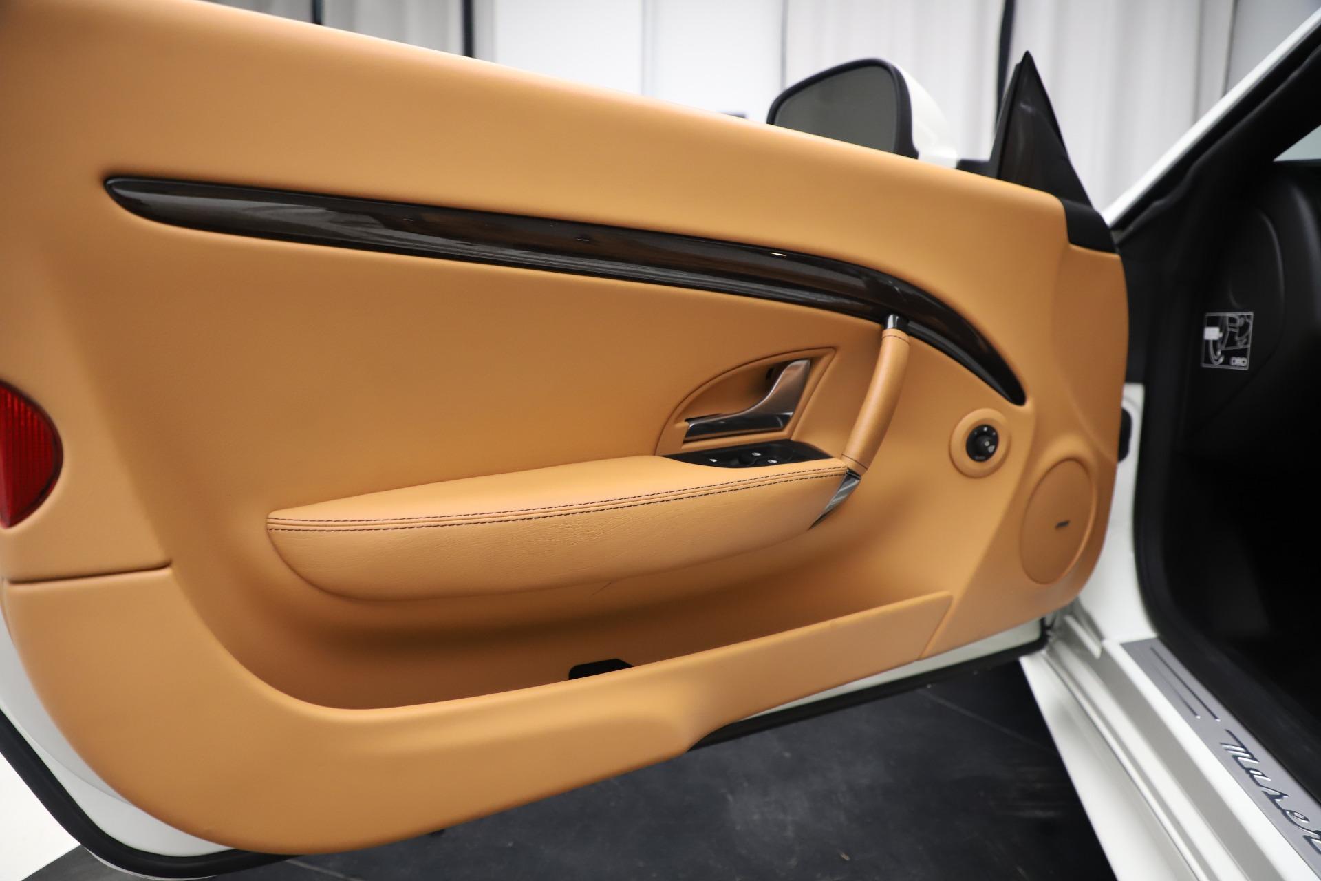 New 2017 Maserati GranTurismo Convertible Sport For Sale In Westport, CT 153_p27