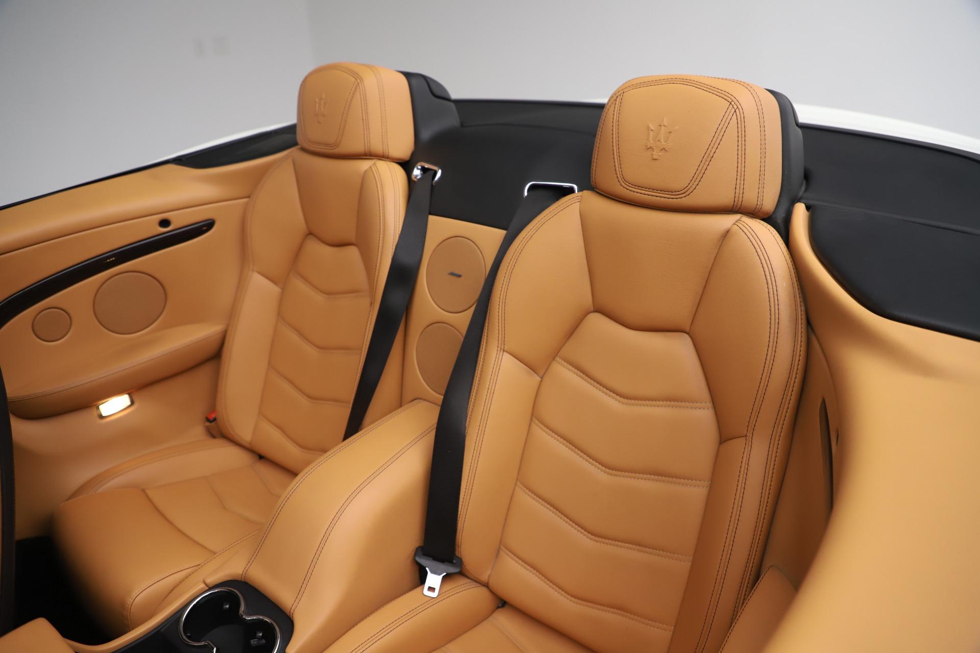 New 2017 Maserati GranTurismo Convertible Sport For Sale In Westport, CT 153_p28