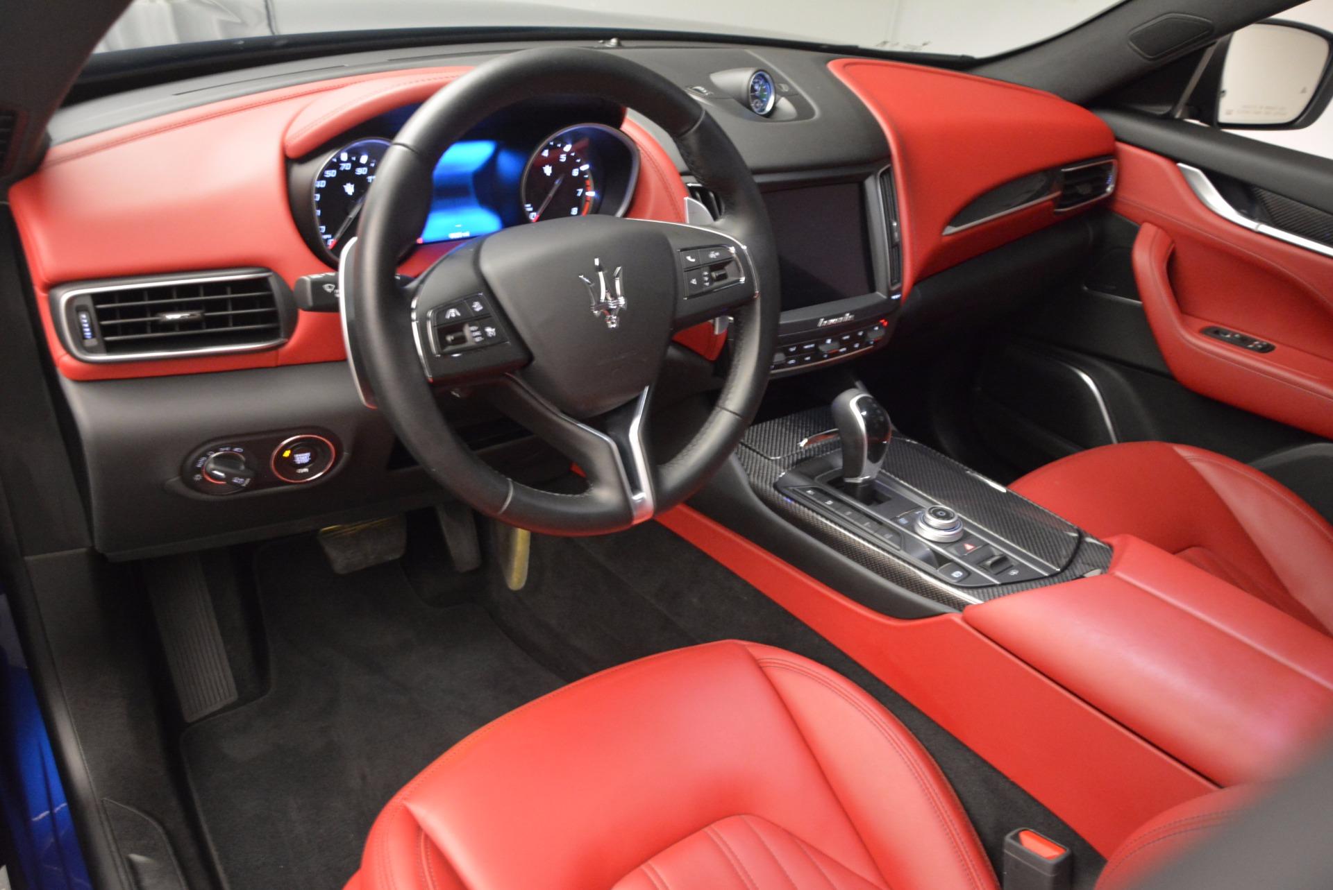 Used 2017 Maserati Levante S Q4 For Sale In Westport, CT 1533_p14