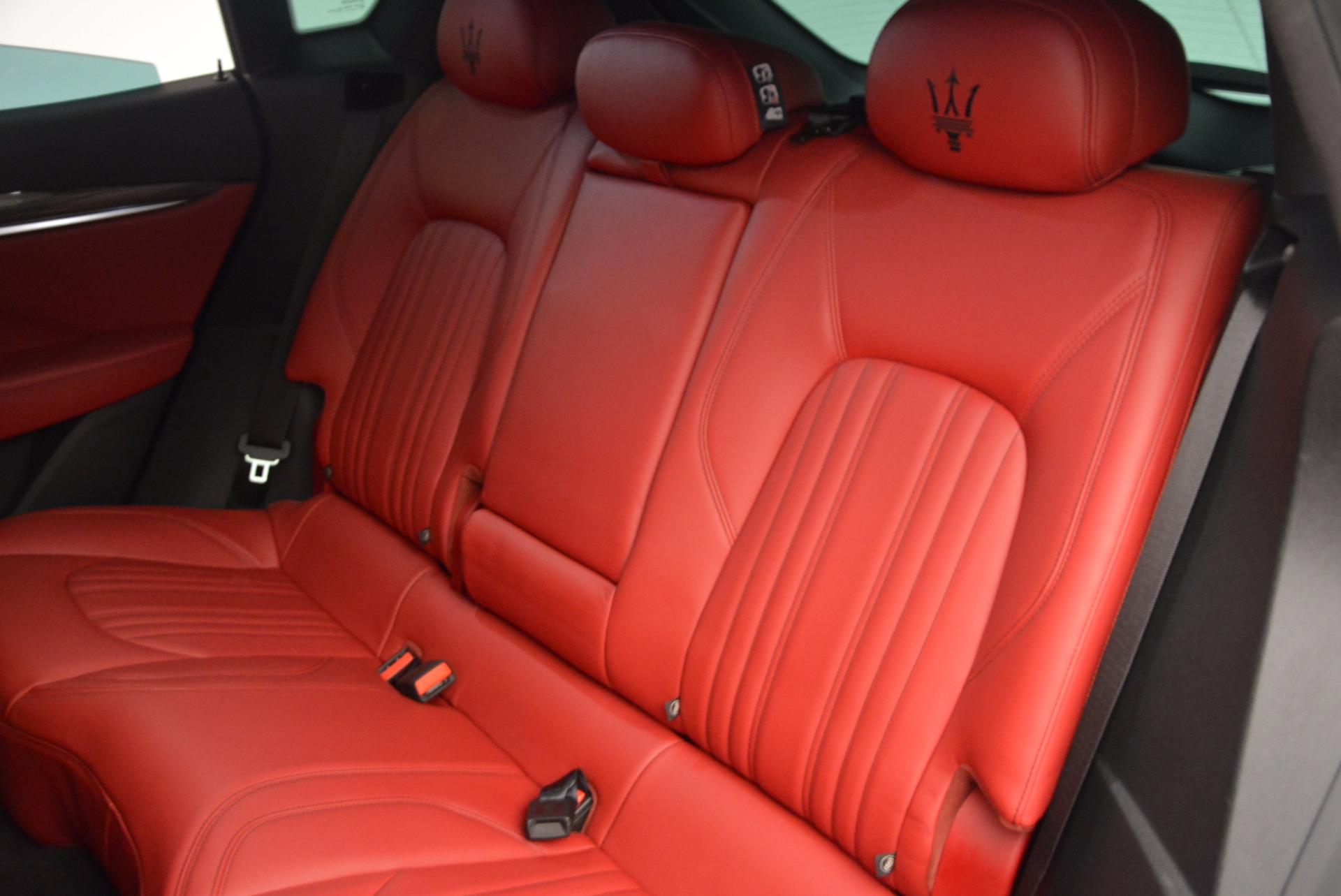 Used 2017 Maserati Levante S Q4 For Sale In Westport, CT 1533_p19