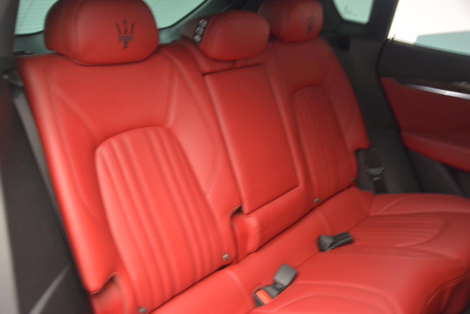 Used 2017 Maserati Levante S Q4 For Sale In Westport, CT 1533_p22