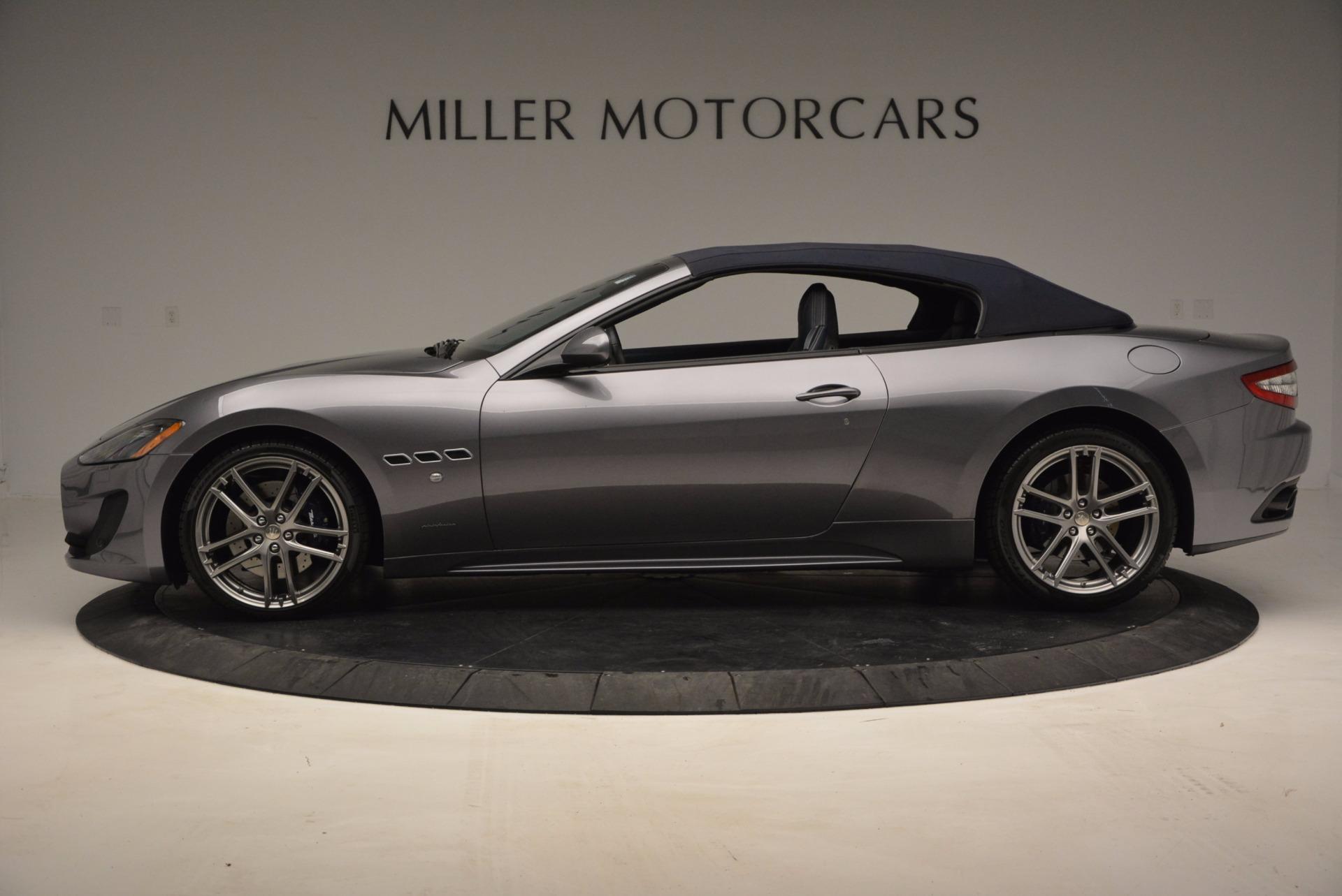 New 2016 Maserati GranTurismo Convertible Sport For Sale In Westport, CT 154_p12