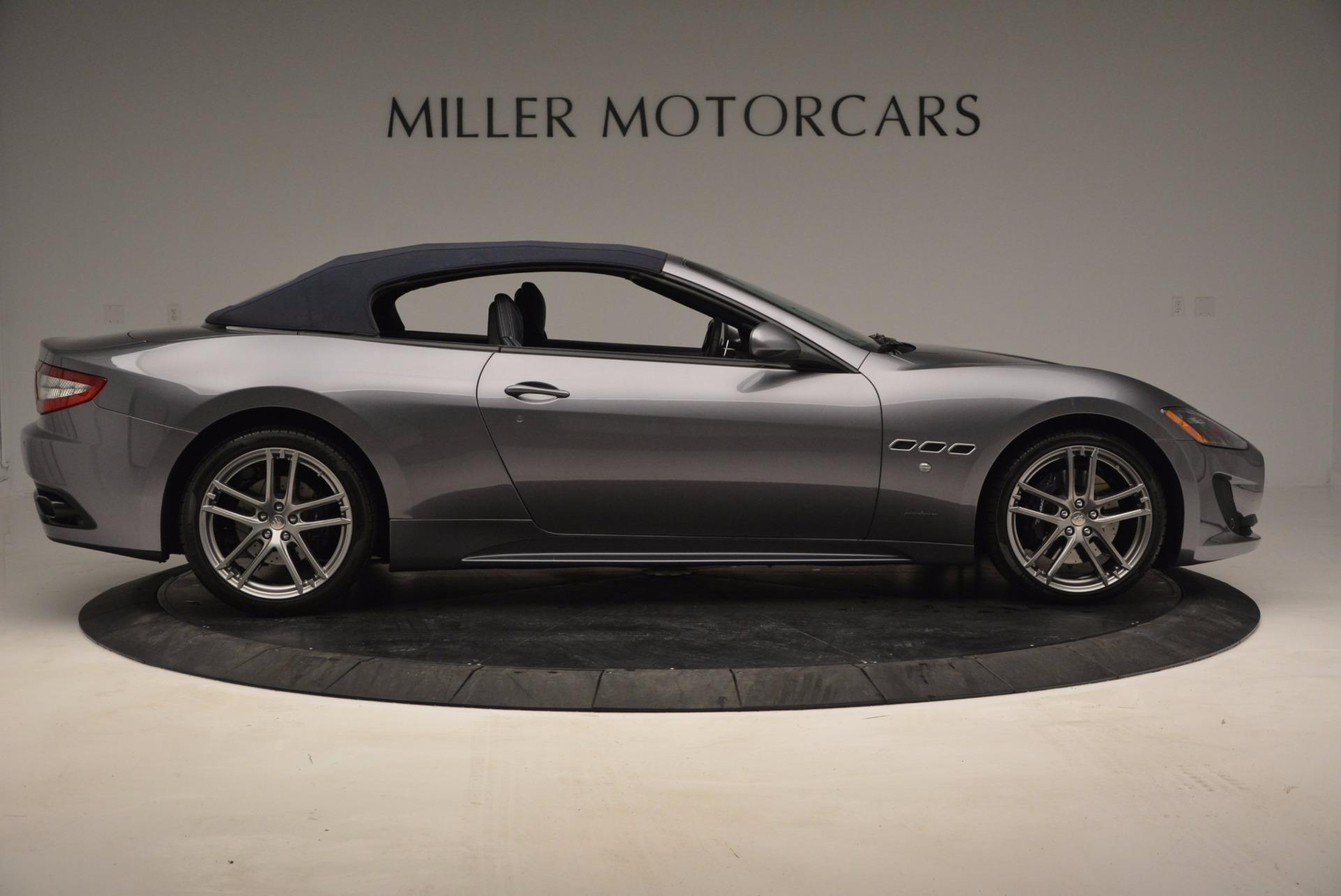 New 2016 Maserati GranTurismo Convertible Sport For Sale In Westport, CT 154_p14