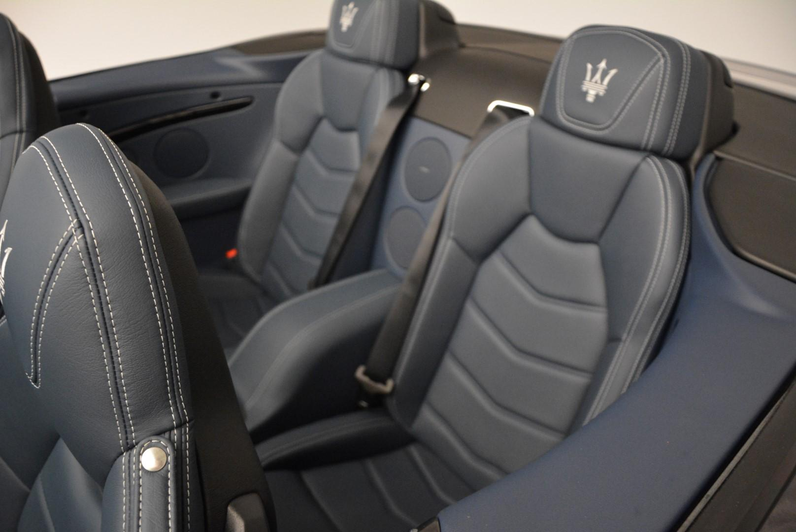 New 2016 Maserati GranTurismo Convertible Sport For Sale In Westport, CT 154_p25