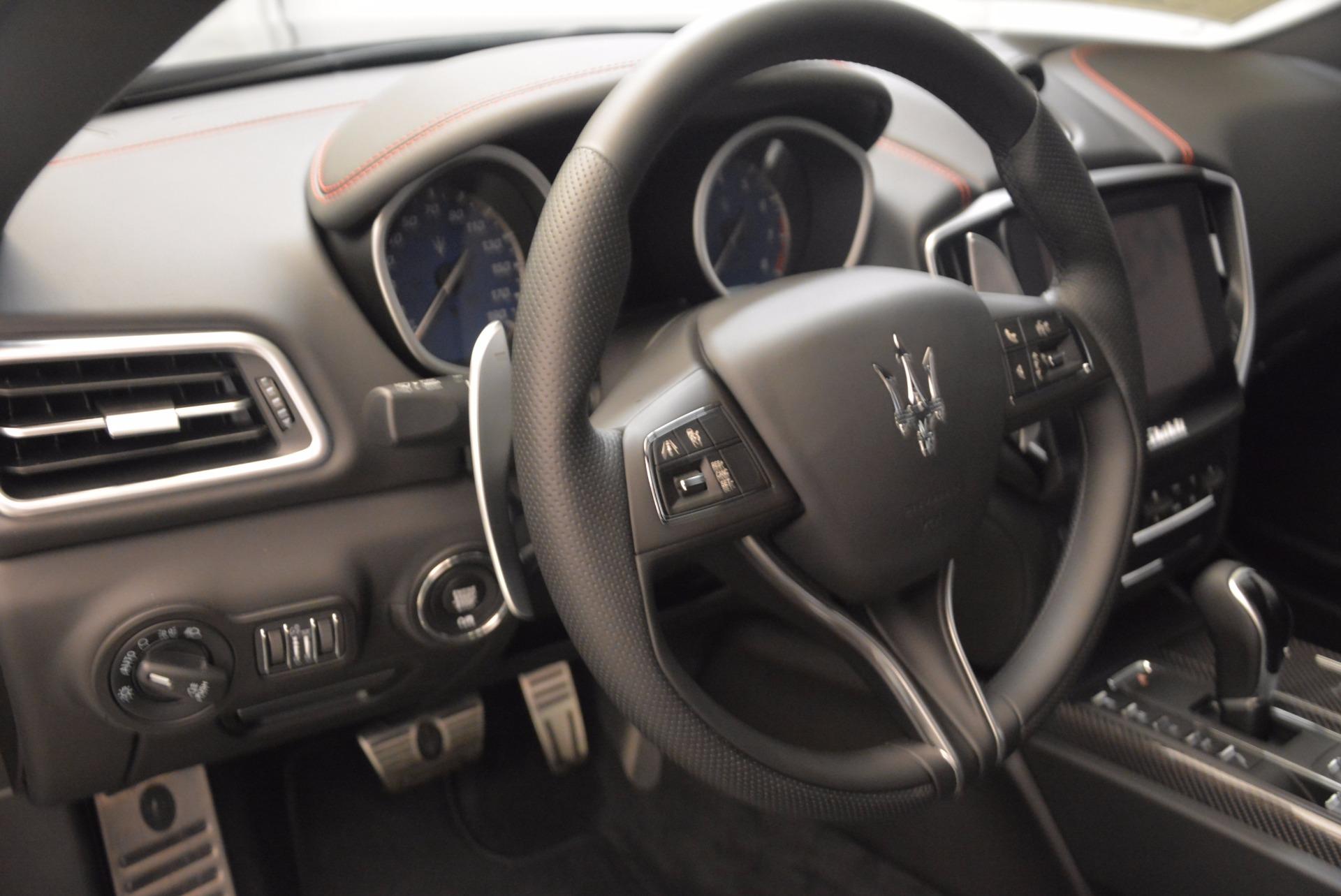 New 2018 Maserati Ghibli S Q4 GranSport For Sale In Westport, CT 1541_p16