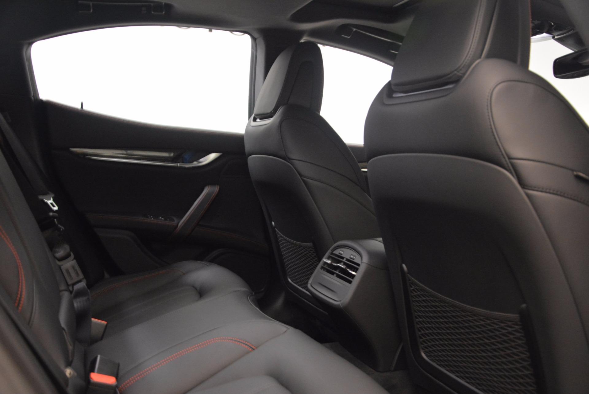 New 2018 Maserati Ghibli S Q4 GranSport For Sale In Westport, CT 1541_p24