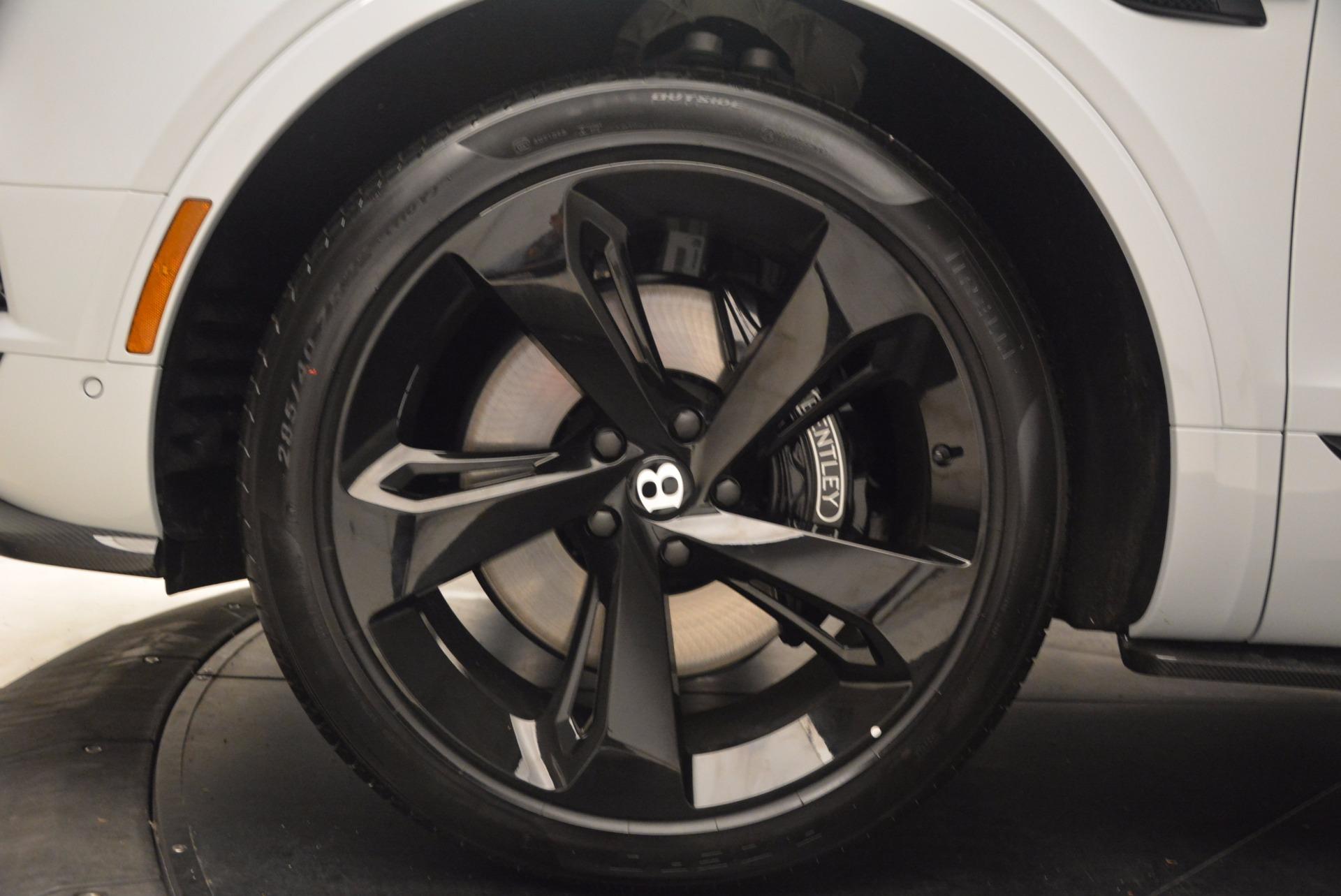 New 2018 Bentley Bentayga Black Edition For Sale In Westport, CT 1542_p14
