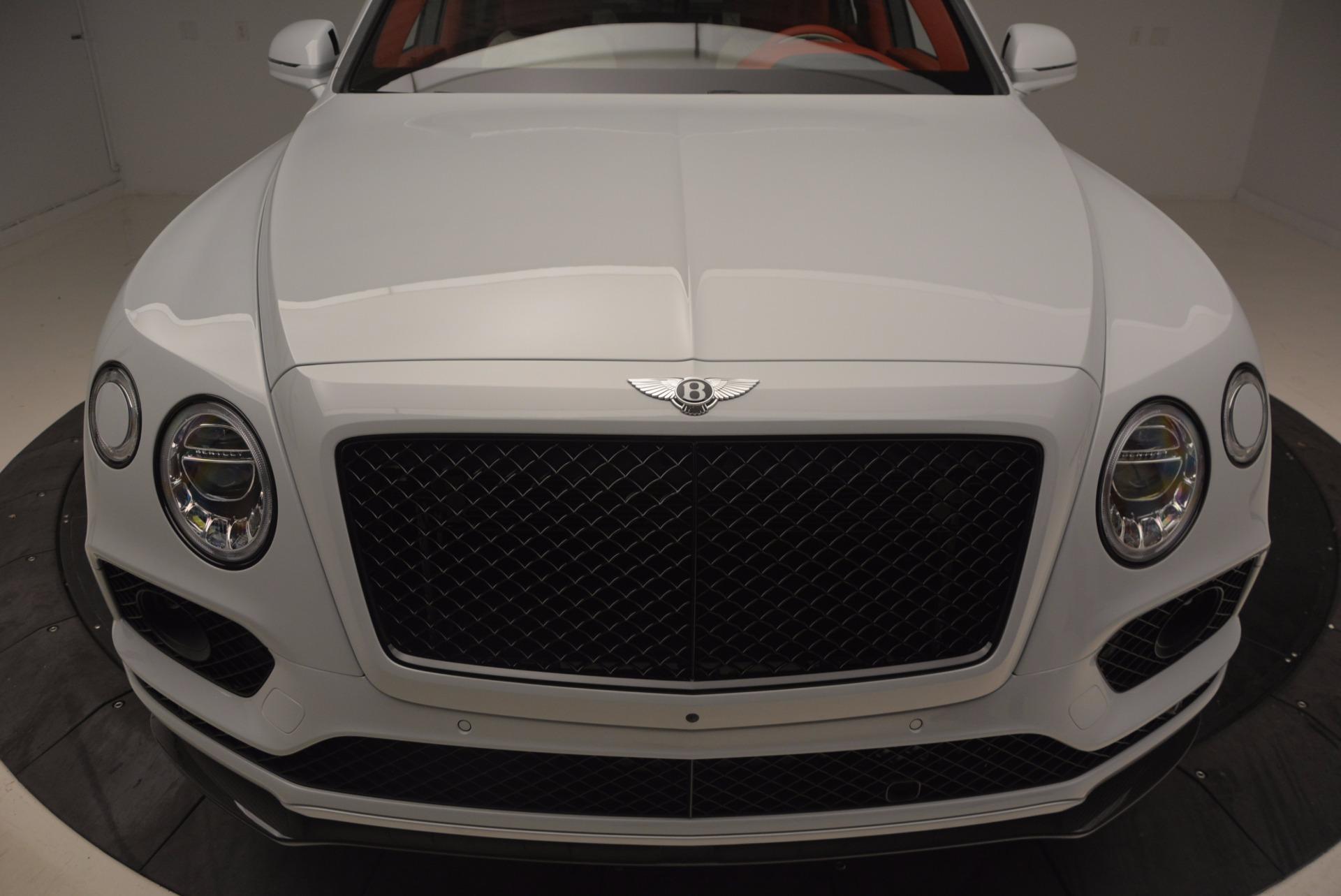 New 2018 Bentley Bentayga Black Edition For Sale In Westport, CT 1542_p15