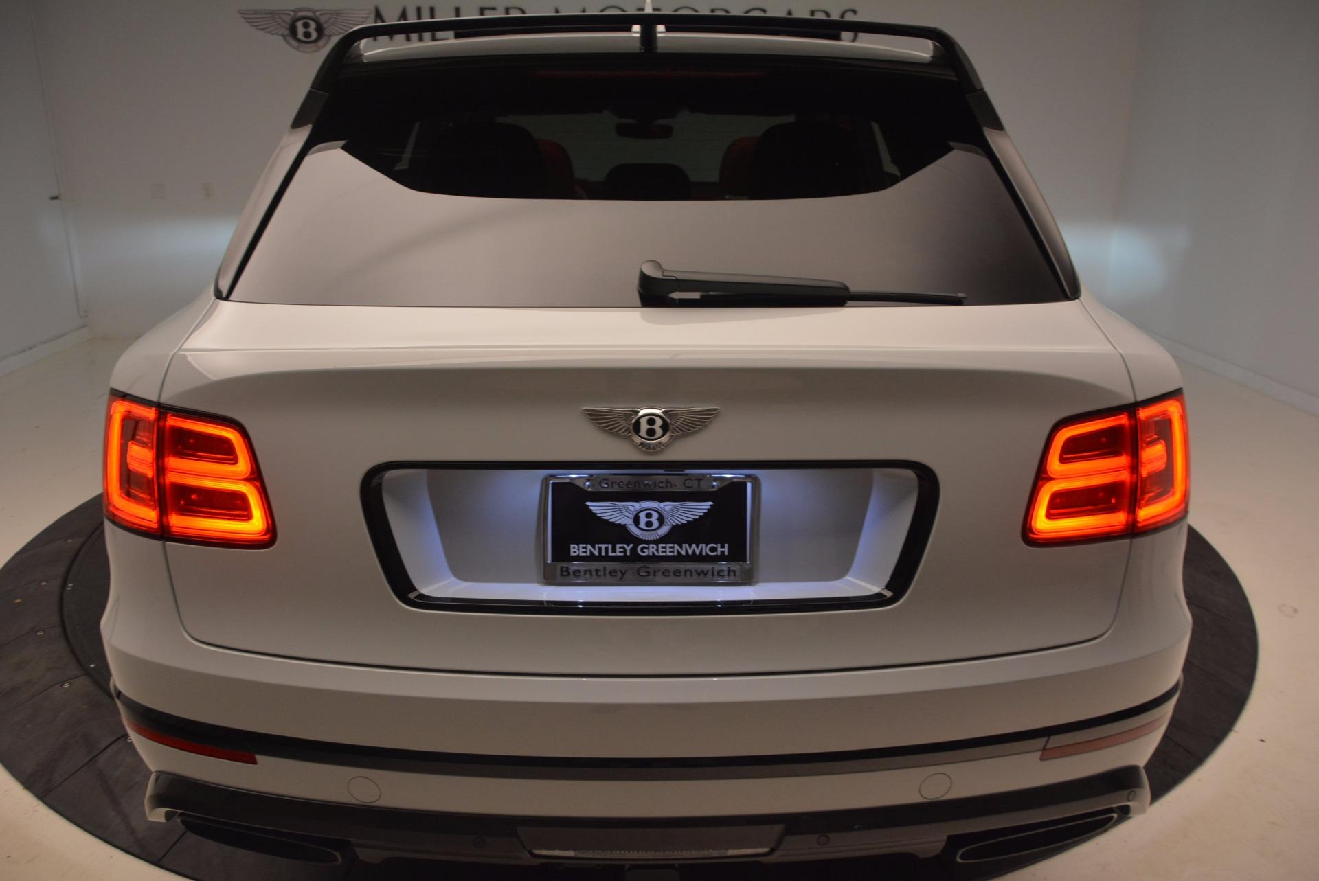 New 2018 Bentley Bentayga Black Edition For Sale In Westport, CT 1542_p25