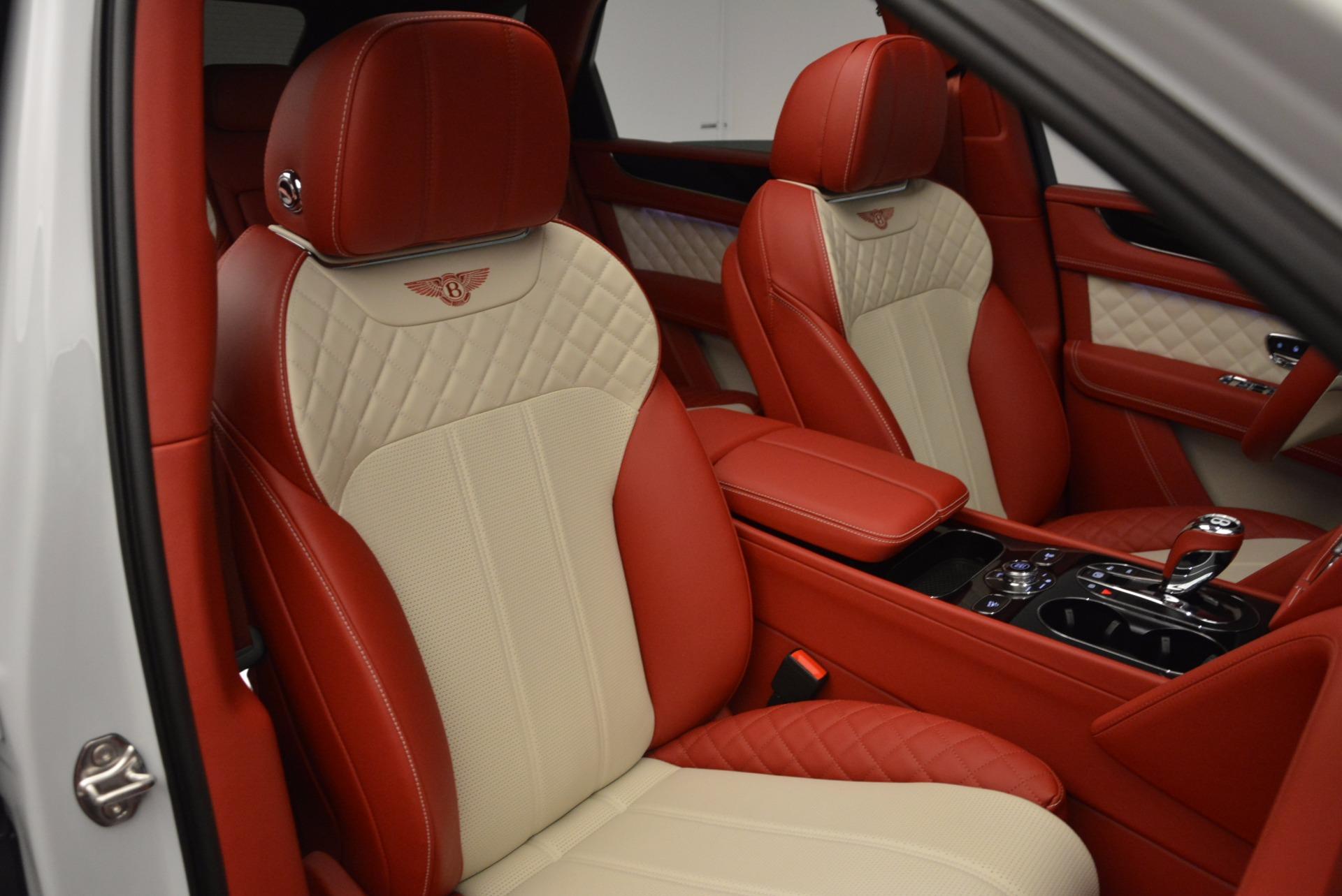 New 2018 Bentley Bentayga Black Edition For Sale In Westport, CT 1542_p29