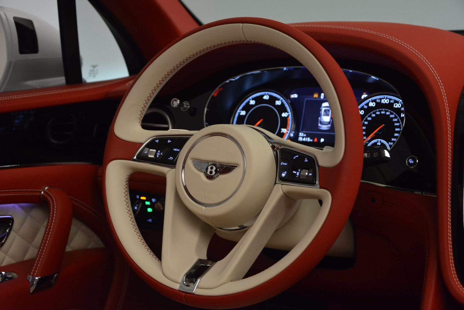 New 2018 Bentley Bentayga Black Edition For Sale In Westport, CT 1542_p30