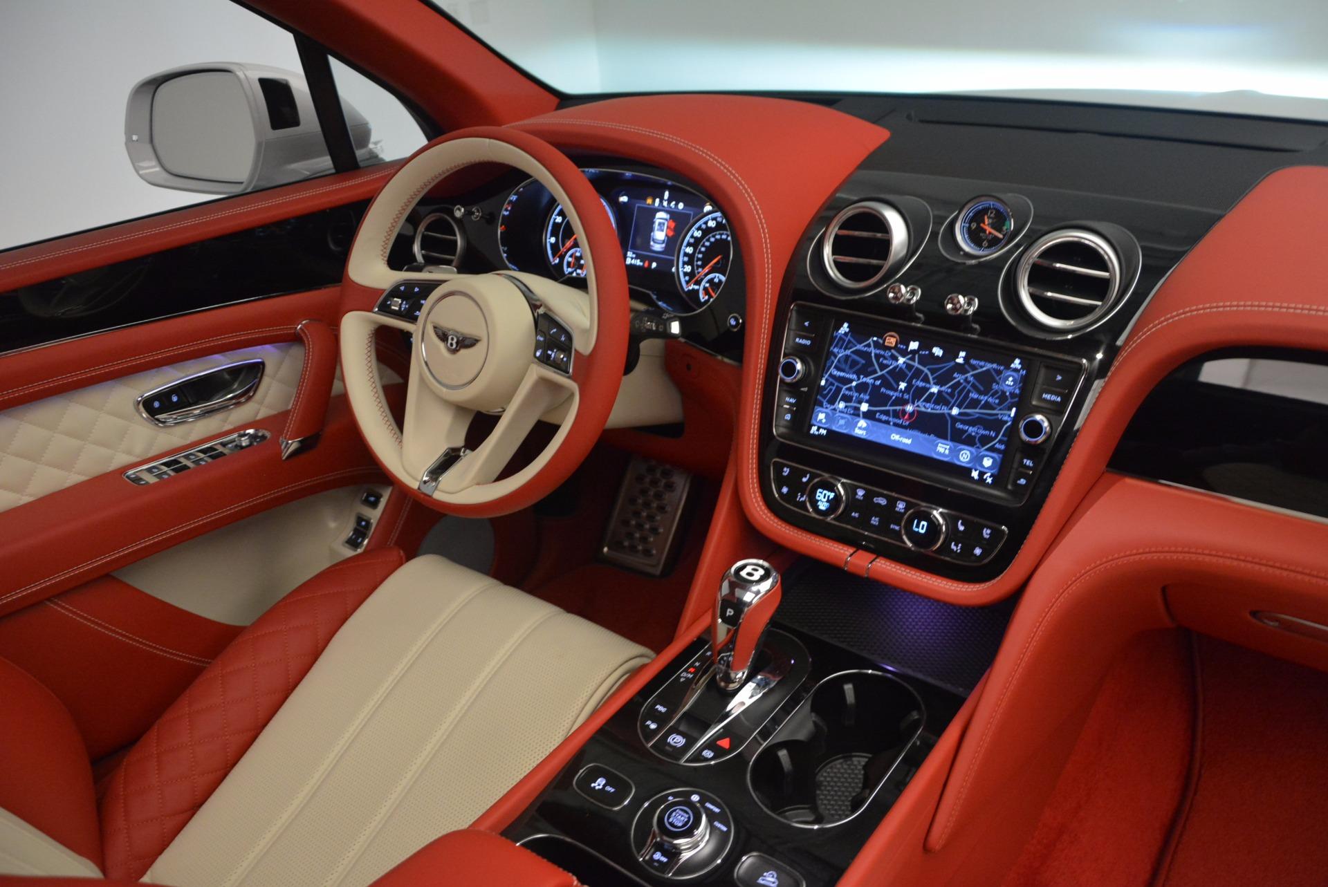 New 2018 Bentley Bentayga Black Edition For Sale In Westport, CT 1542_p31