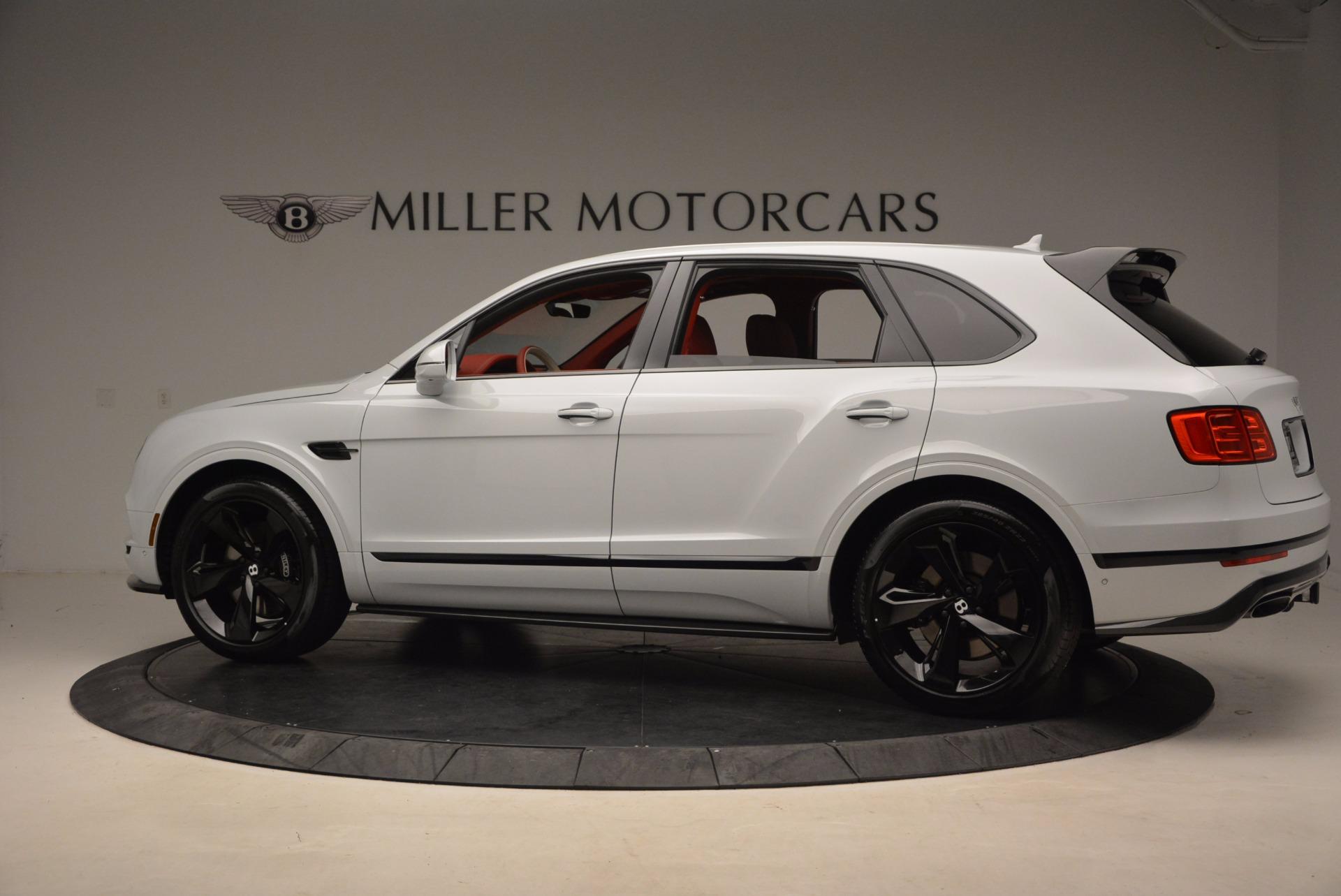 New 2018 Bentley Bentayga Black Edition For Sale In Westport, CT 1542_p4