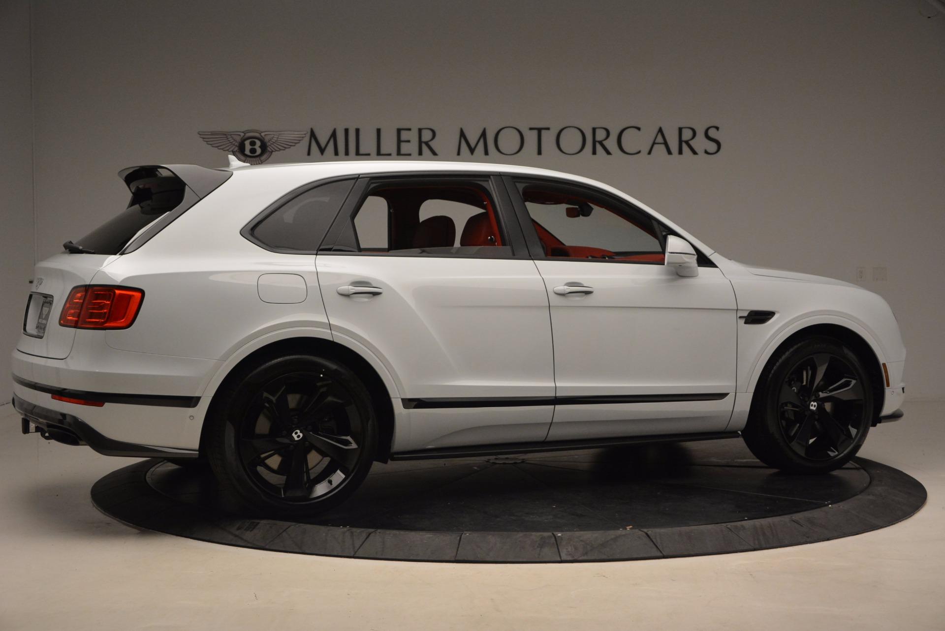 New 2018 Bentley Bentayga Black Edition For Sale In Westport, CT 1542_p9