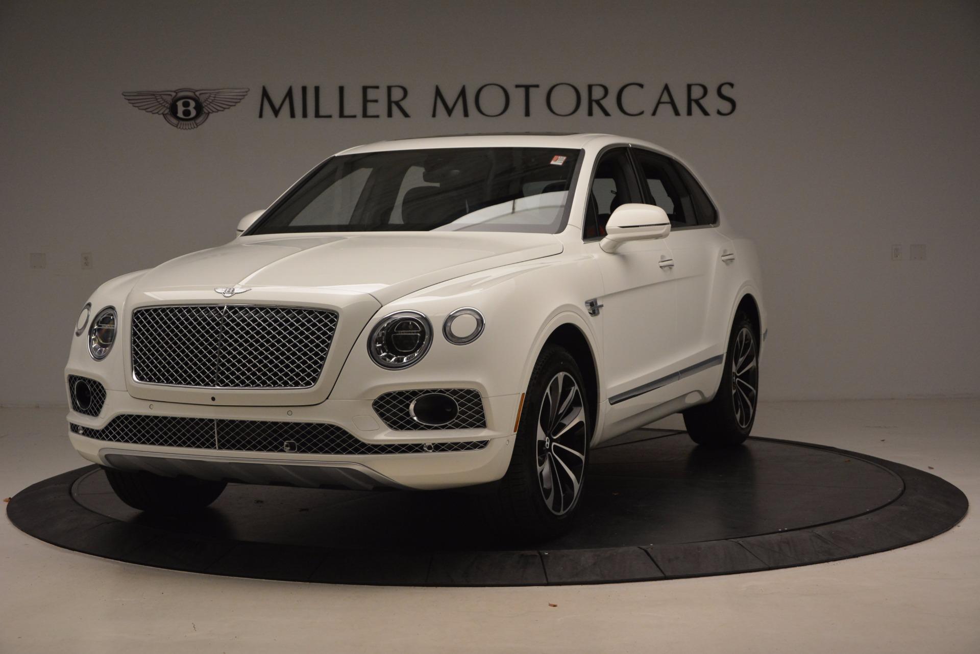 New 2018 Bentley Bentayga Onyx For Sale In Westport, CT 1548_main