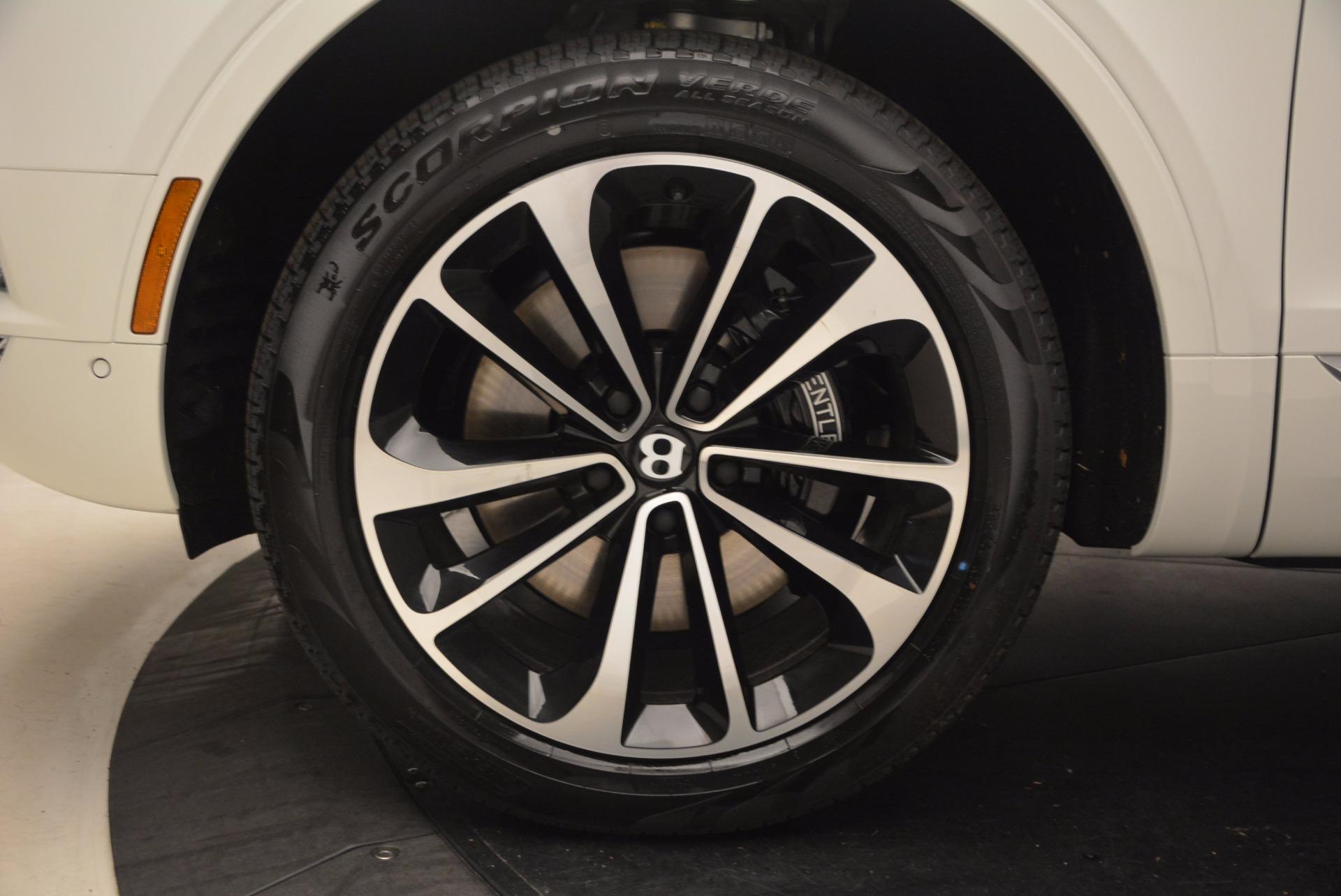 New 2018 Bentley Bentayga Onyx For Sale In Westport, CT 1548_p16