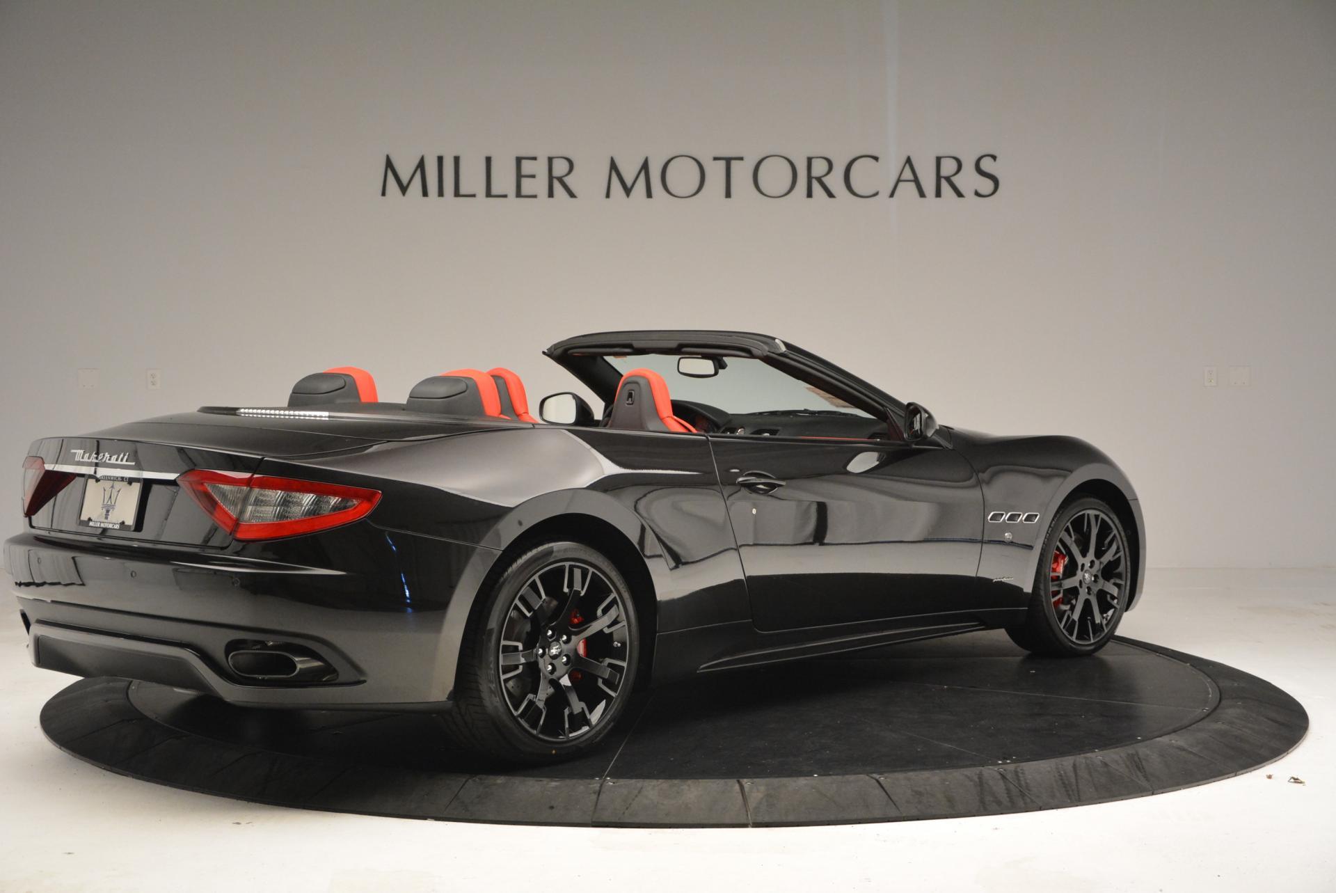 New 2016 Maserati GranTurismo Convertible Sport For Sale In Westport, CT 155_p15