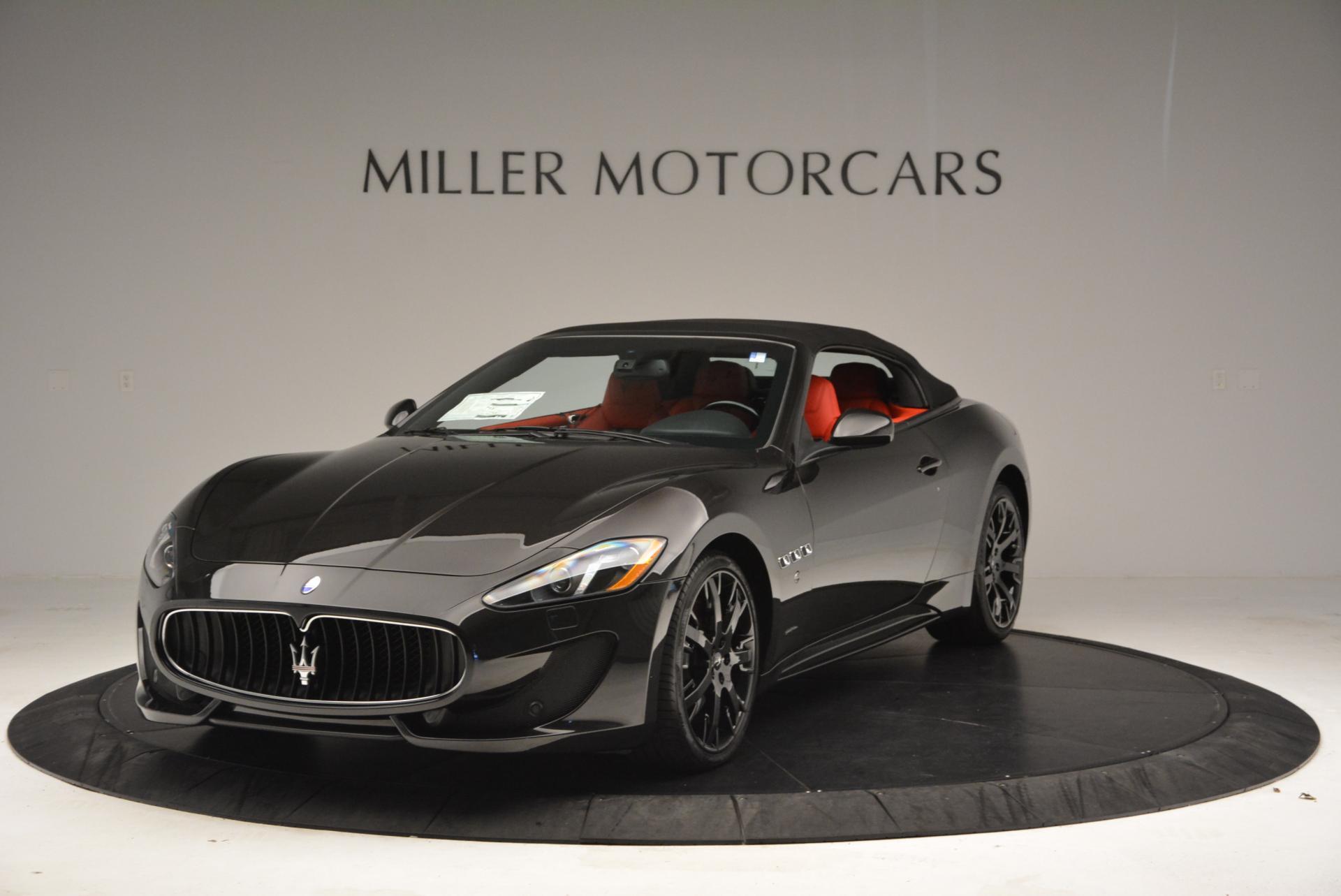 New 2016 Maserati GranTurismo Convertible Sport For Sale In Westport, CT 155_p2