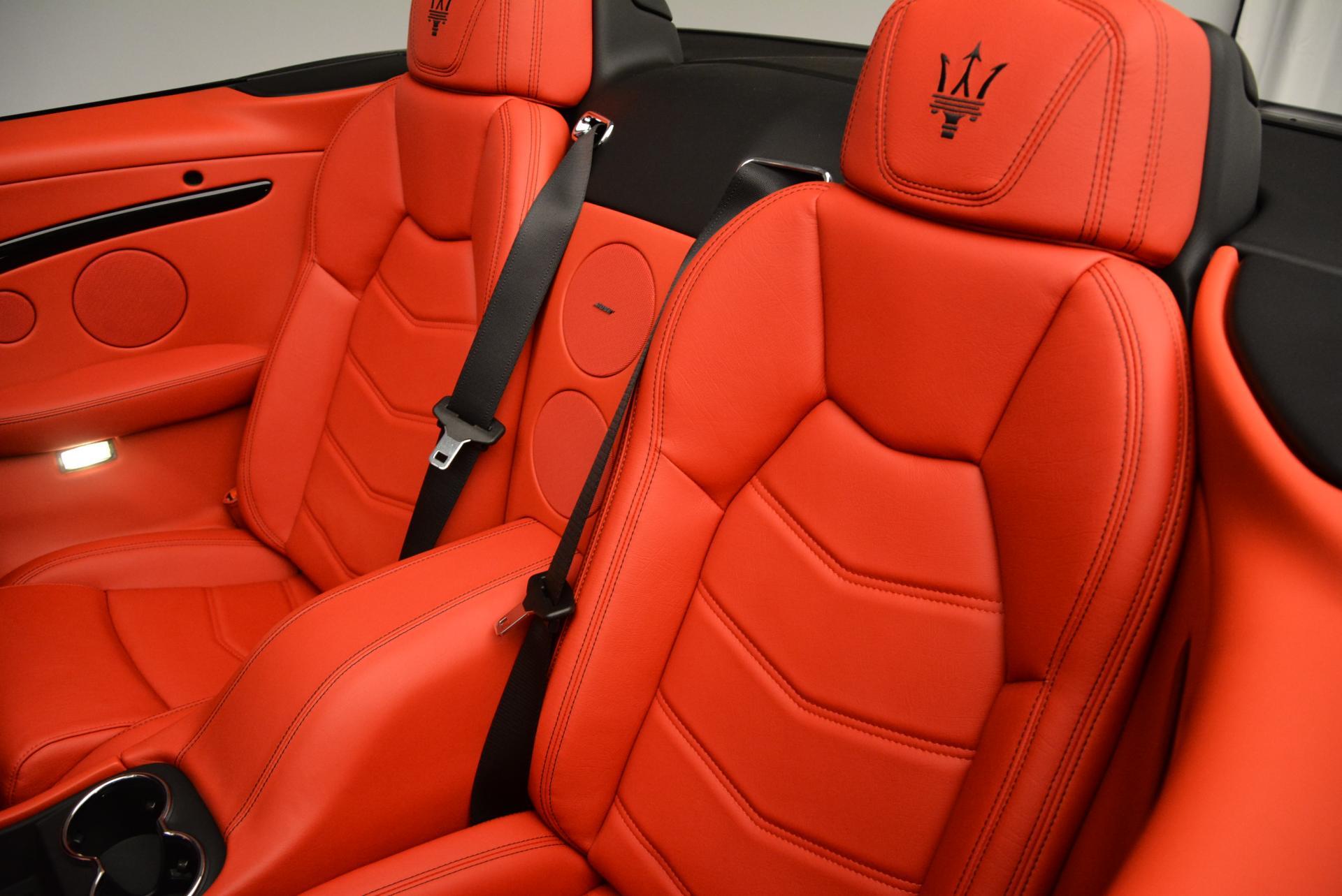 New 2016 Maserati GranTurismo Convertible Sport For Sale In Westport, CT 155_p30