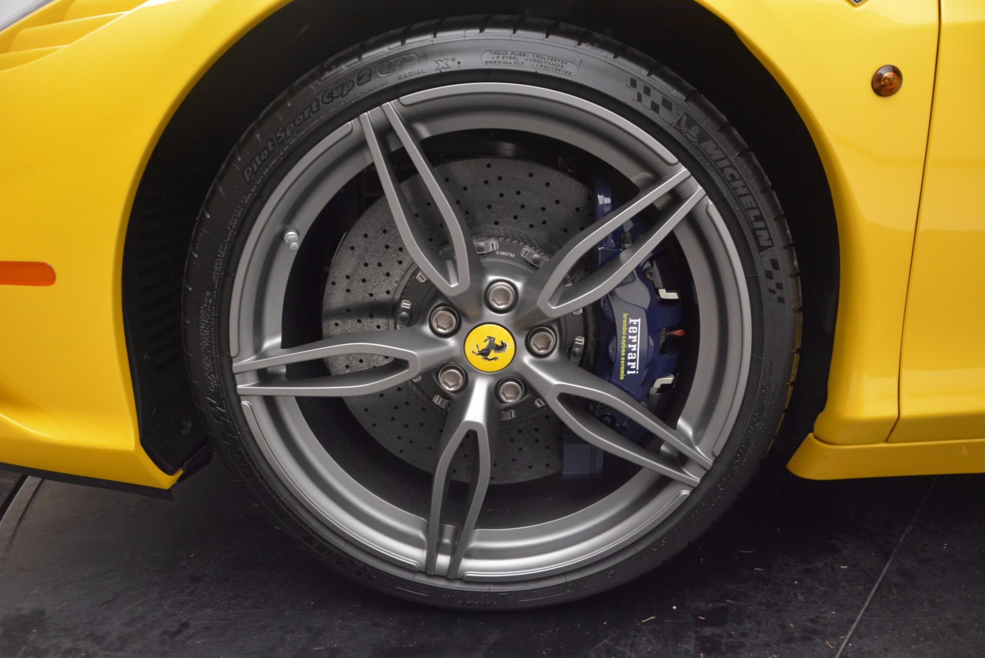 Used 2015 Ferrari 458 Speciale Aperta  For Sale In Westport, CT 1555_p28
