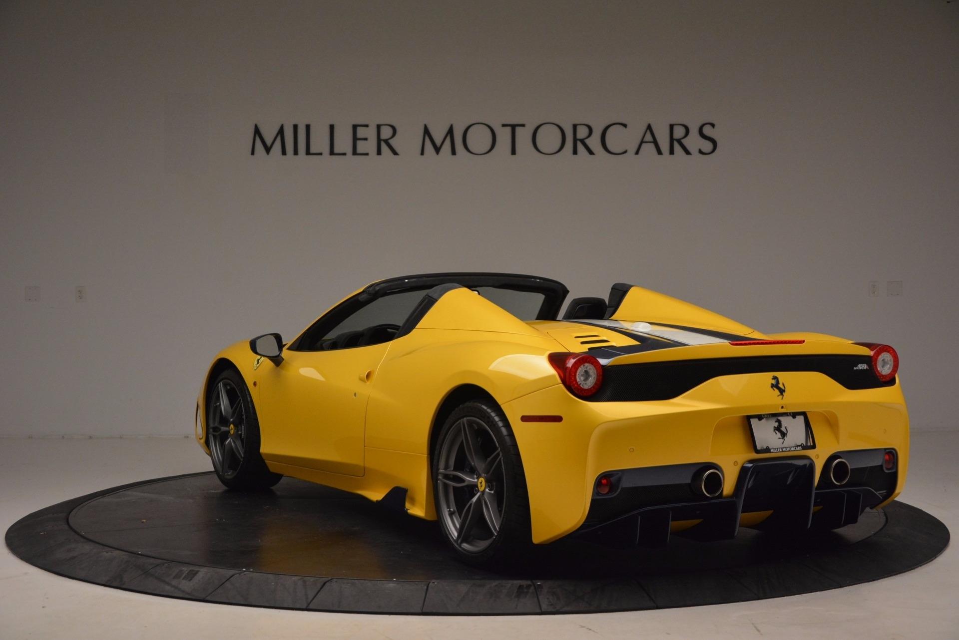 Used 2015 Ferrari 458 Speciale Aperta  For Sale In Westport, CT 1555_p5