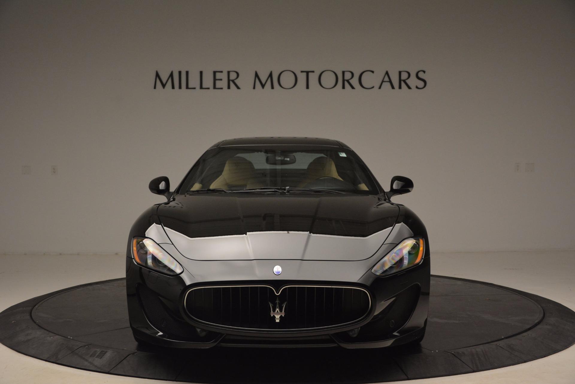 Used 2015 Maserati GranTurismo Sport Coupe For Sale In Westport, CT 1557_p12