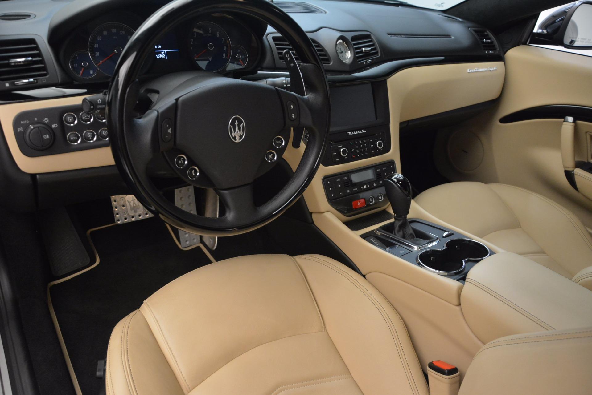Used 2015 Maserati GranTurismo Sport Coupe For Sale In Westport, CT 1557_p13