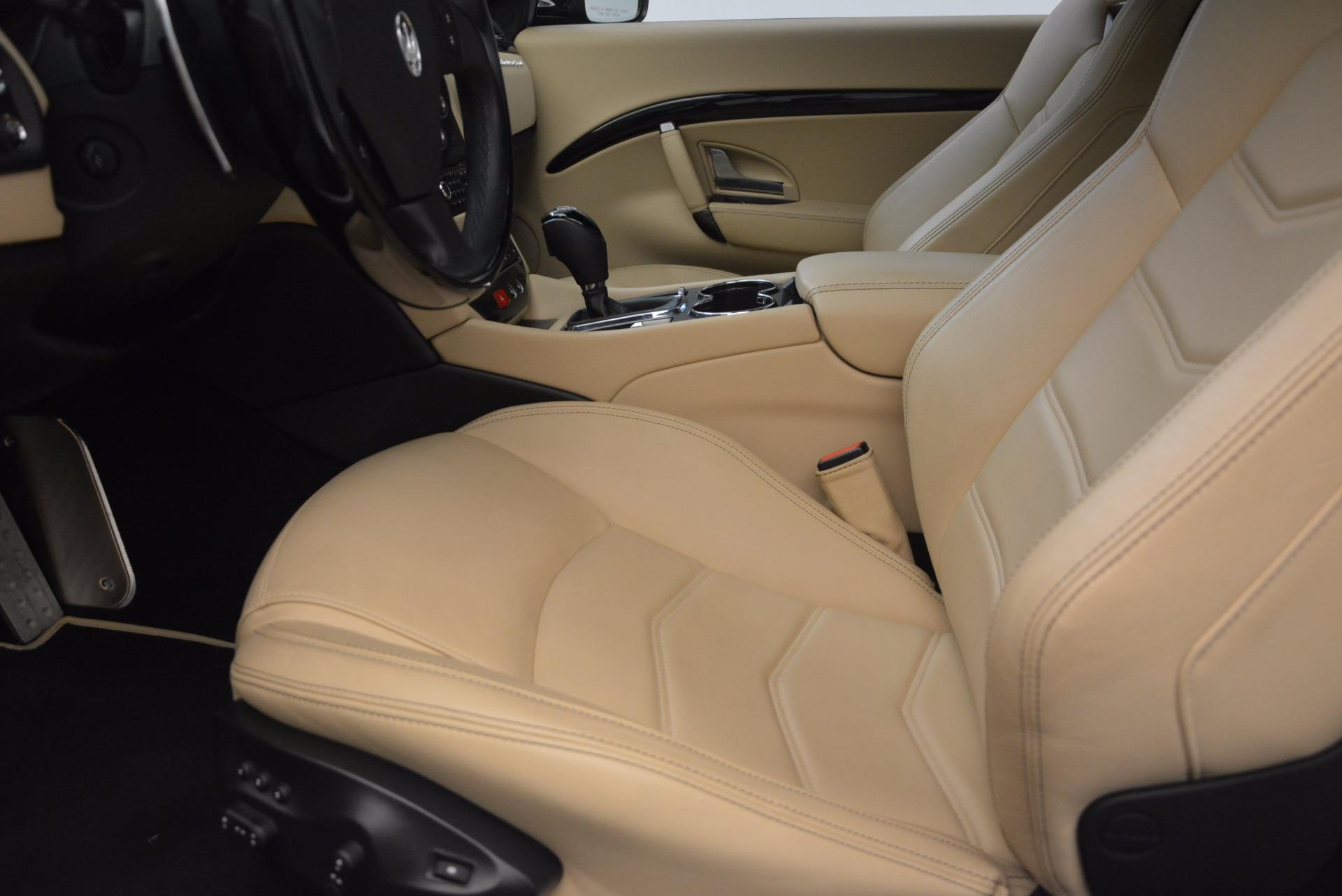 Used 2015 Maserati GranTurismo Sport Coupe For Sale In Westport, CT 1557_p14