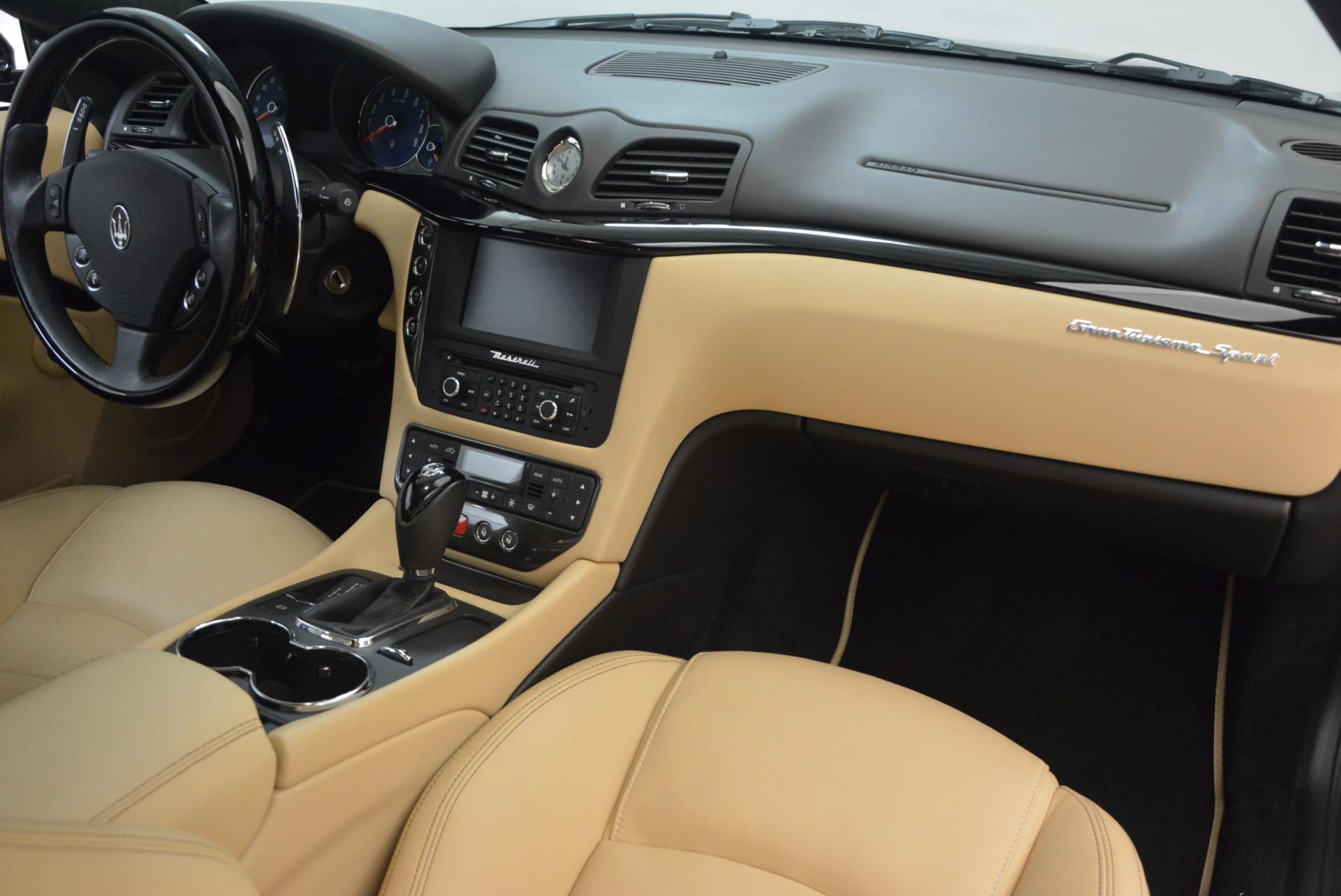 Used 2015 Maserati GranTurismo Sport Coupe For Sale In Westport, CT 1557_p22