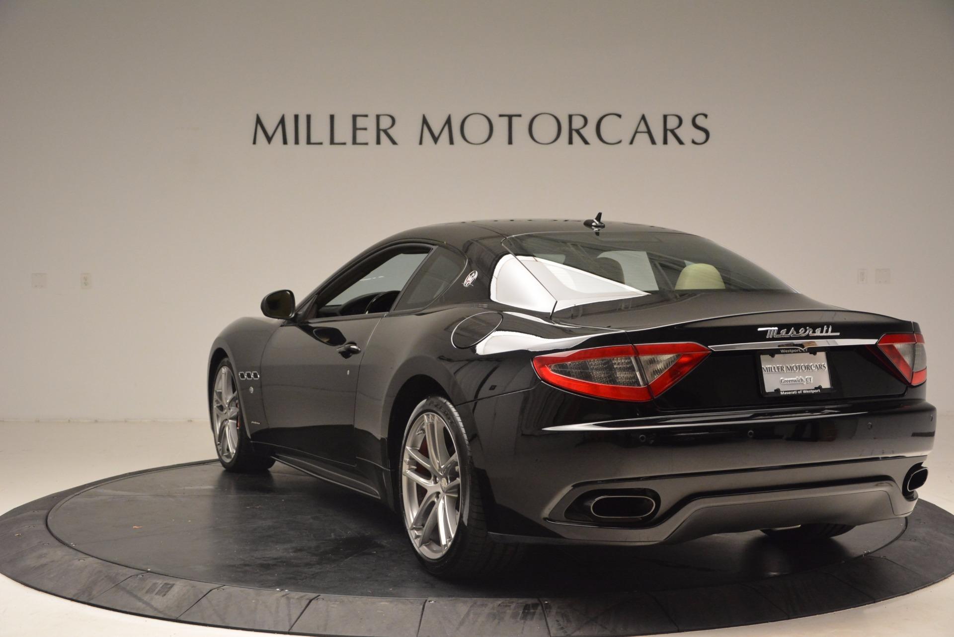 Used 2015 Maserati GranTurismo Sport Coupe For Sale In Westport, CT 1557_p5